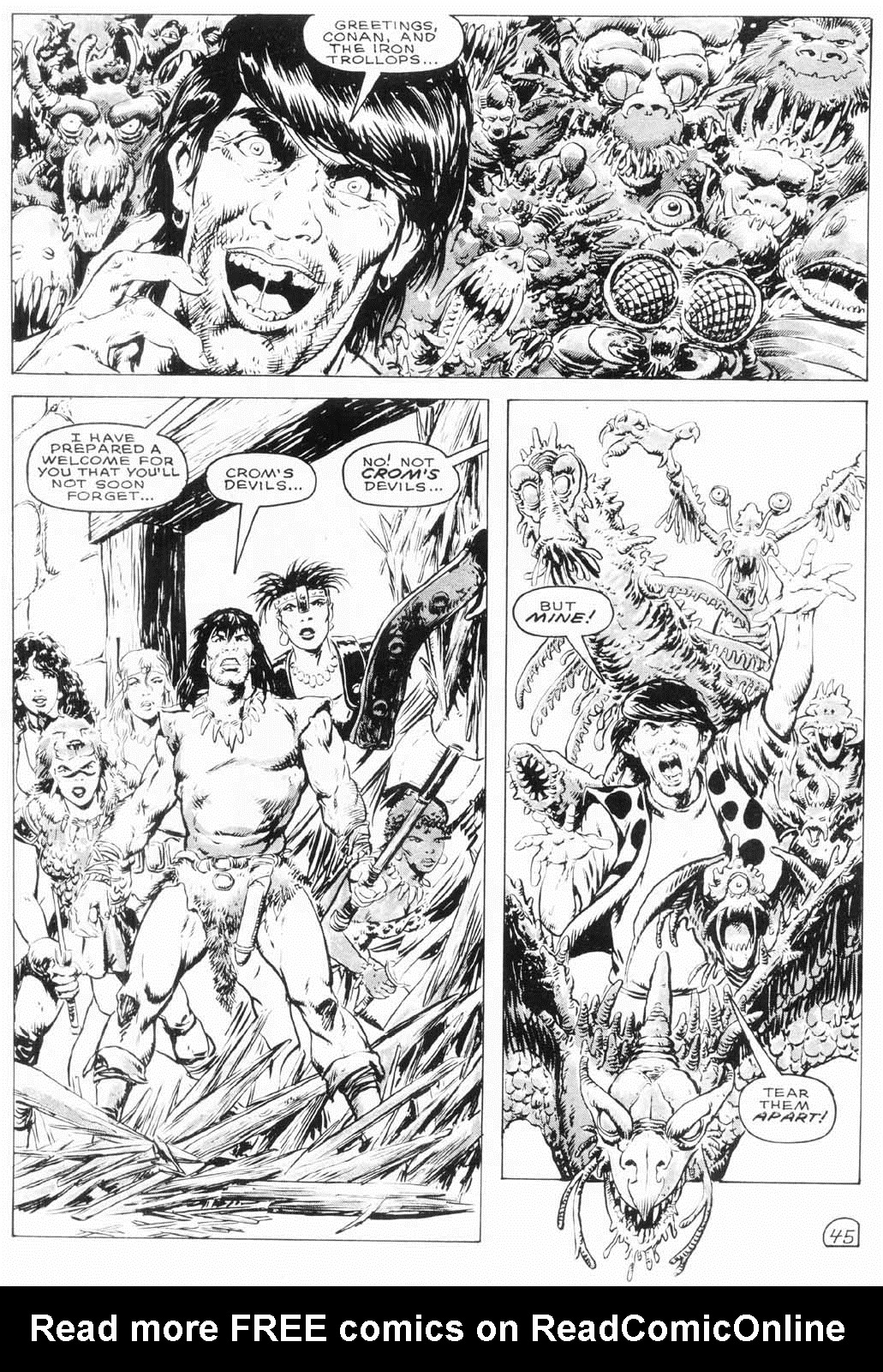 The Savage Sword Of Conan Issue #154 #155 - English 46