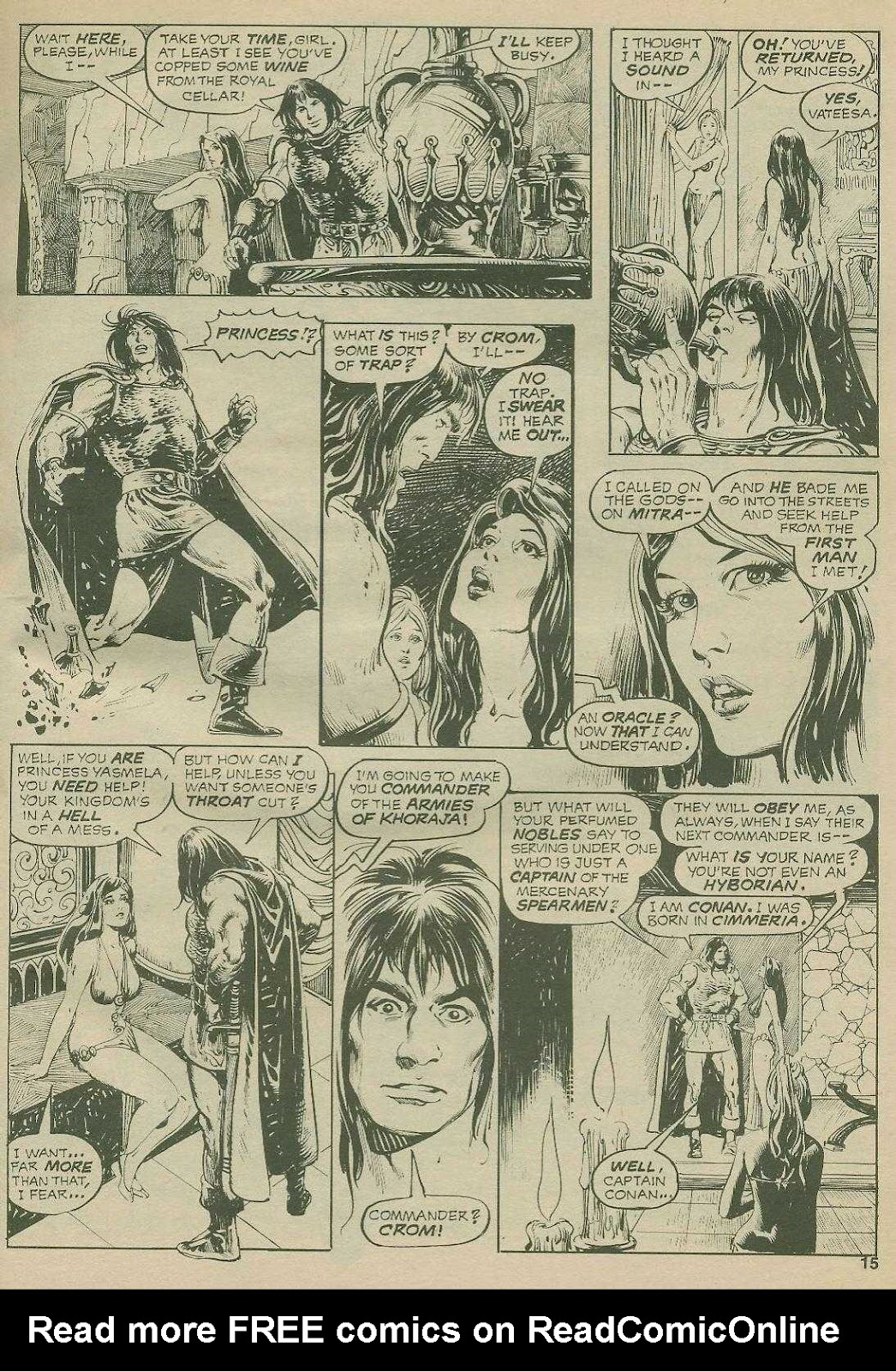 The Savage Sword Of Conan Issue #2 #3 - English 15