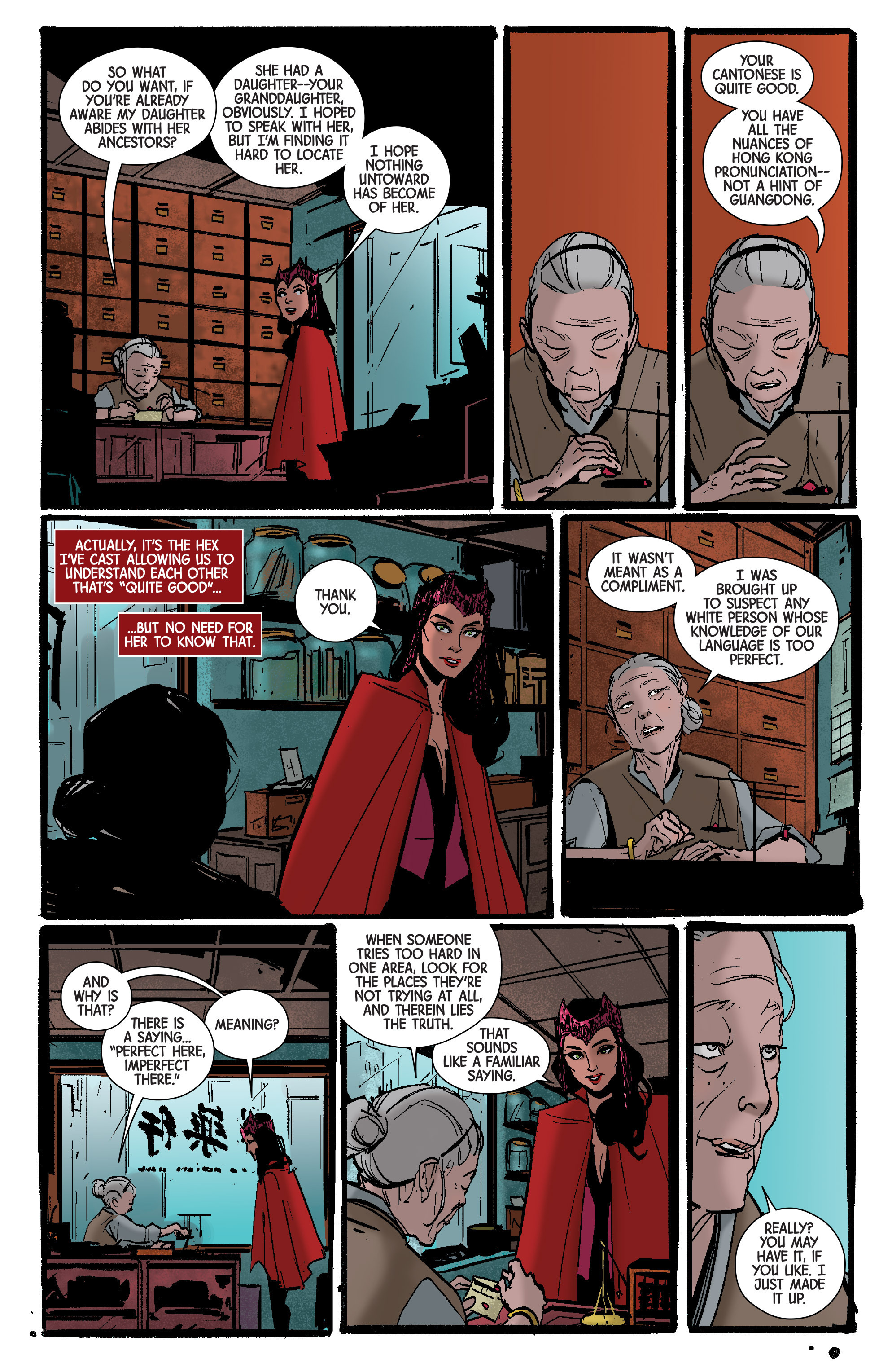 Read online Scarlet Witch (2016) comic -  Issue #7 - 7