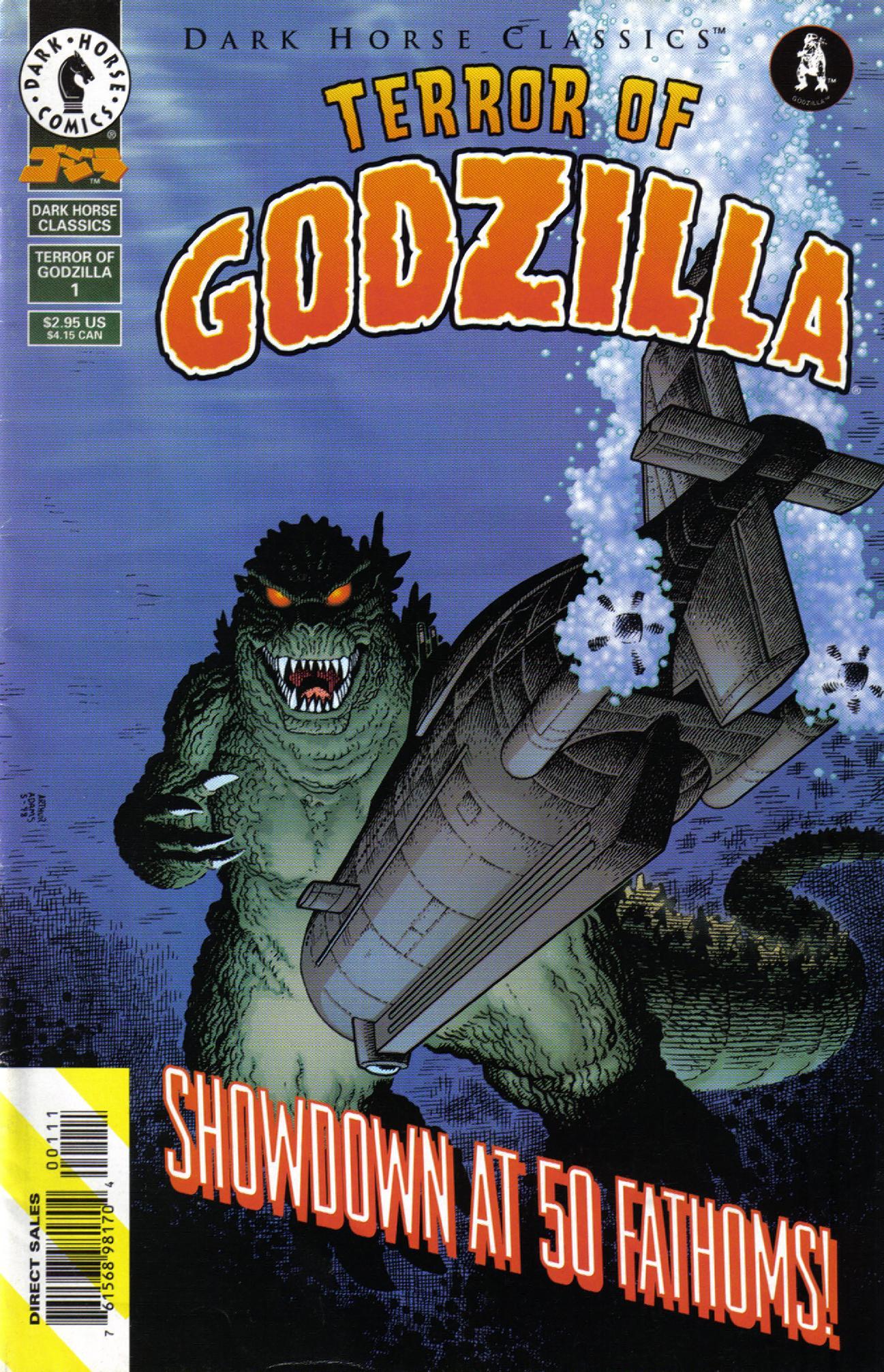Dark Horse Classics: Terror of Godzilla 1 Page 1
