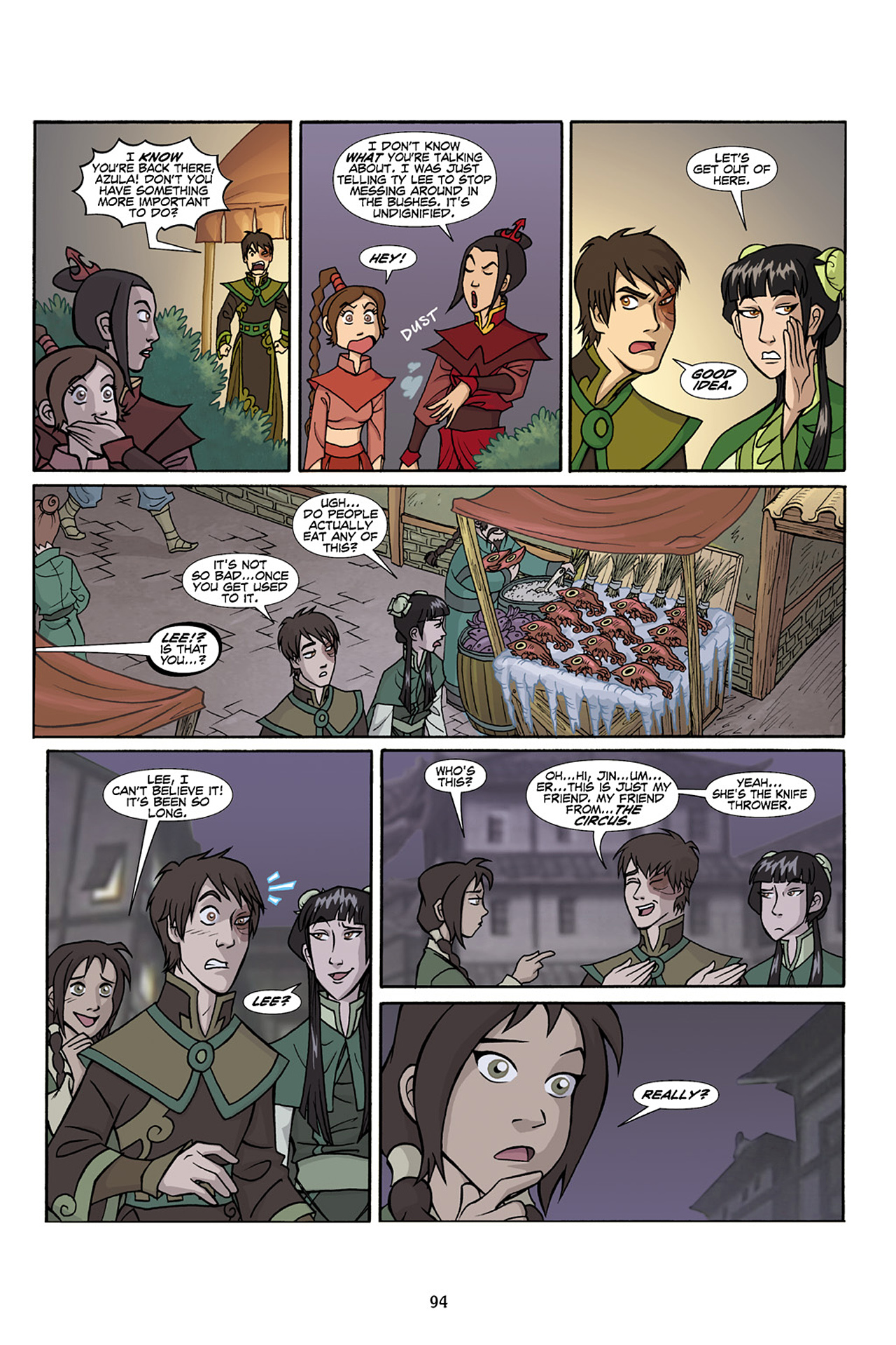 Nickelodeon Avatar: The Last Airbender - The Lost Adventures chap full pic 95