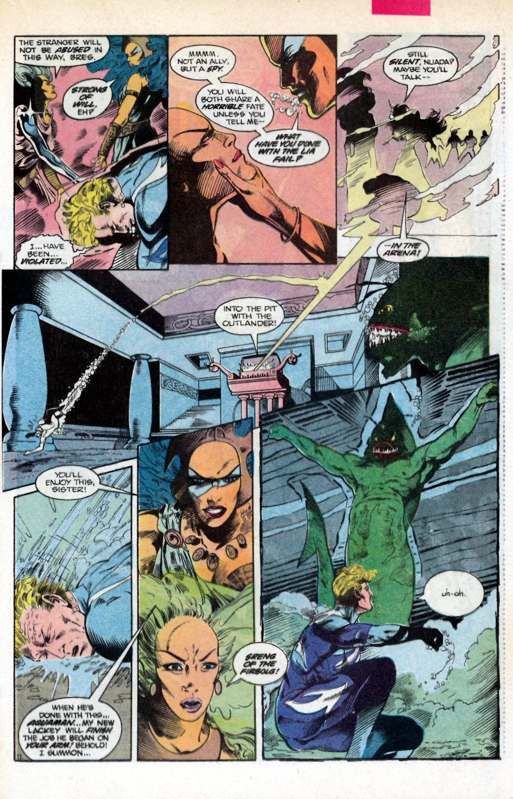 Aquaman (1986) Issue #2 #2 - English 17