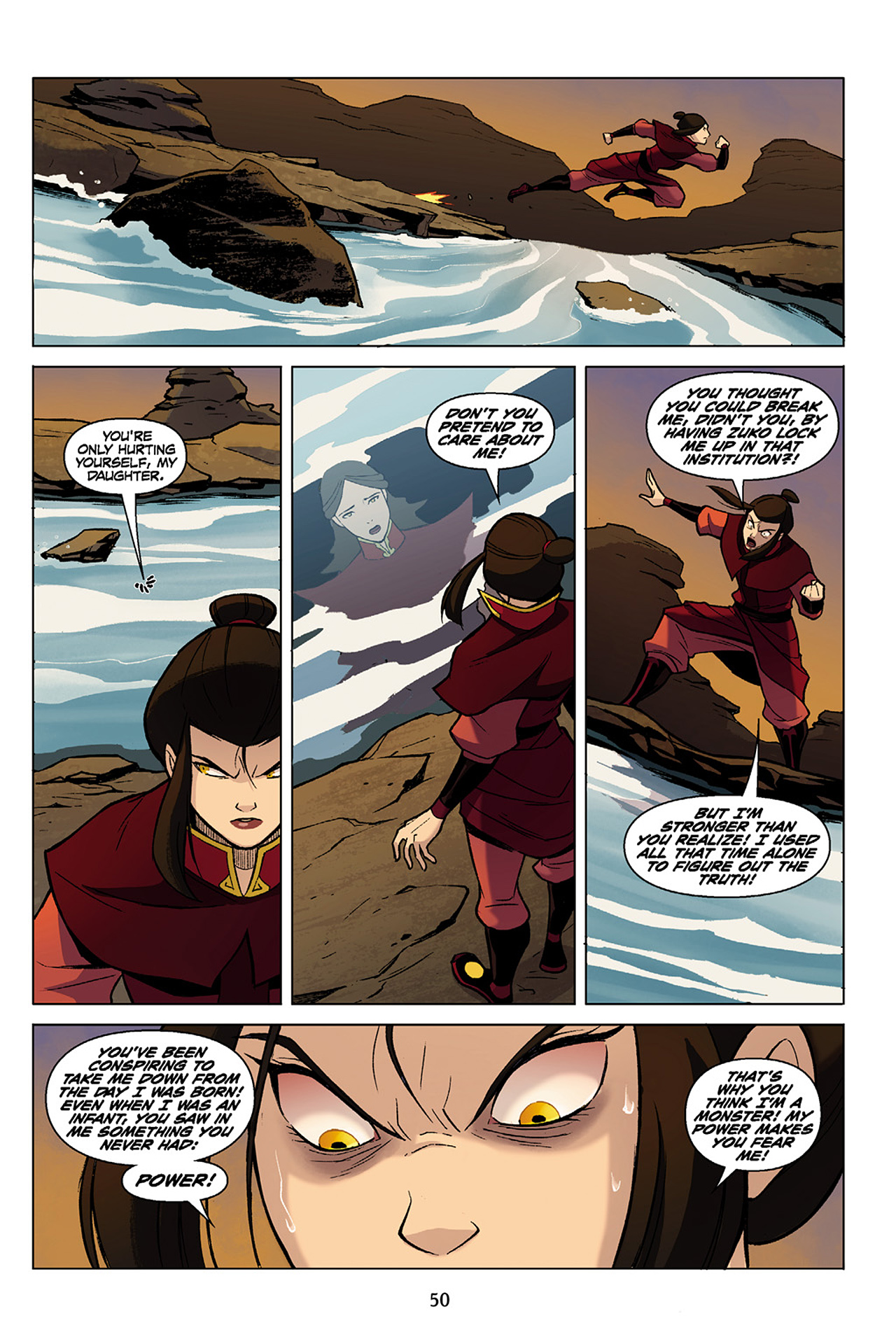 Read online Nickelodeon Avatar: The Last Airbender - The Search comic -  Issue # Part 1 - 51