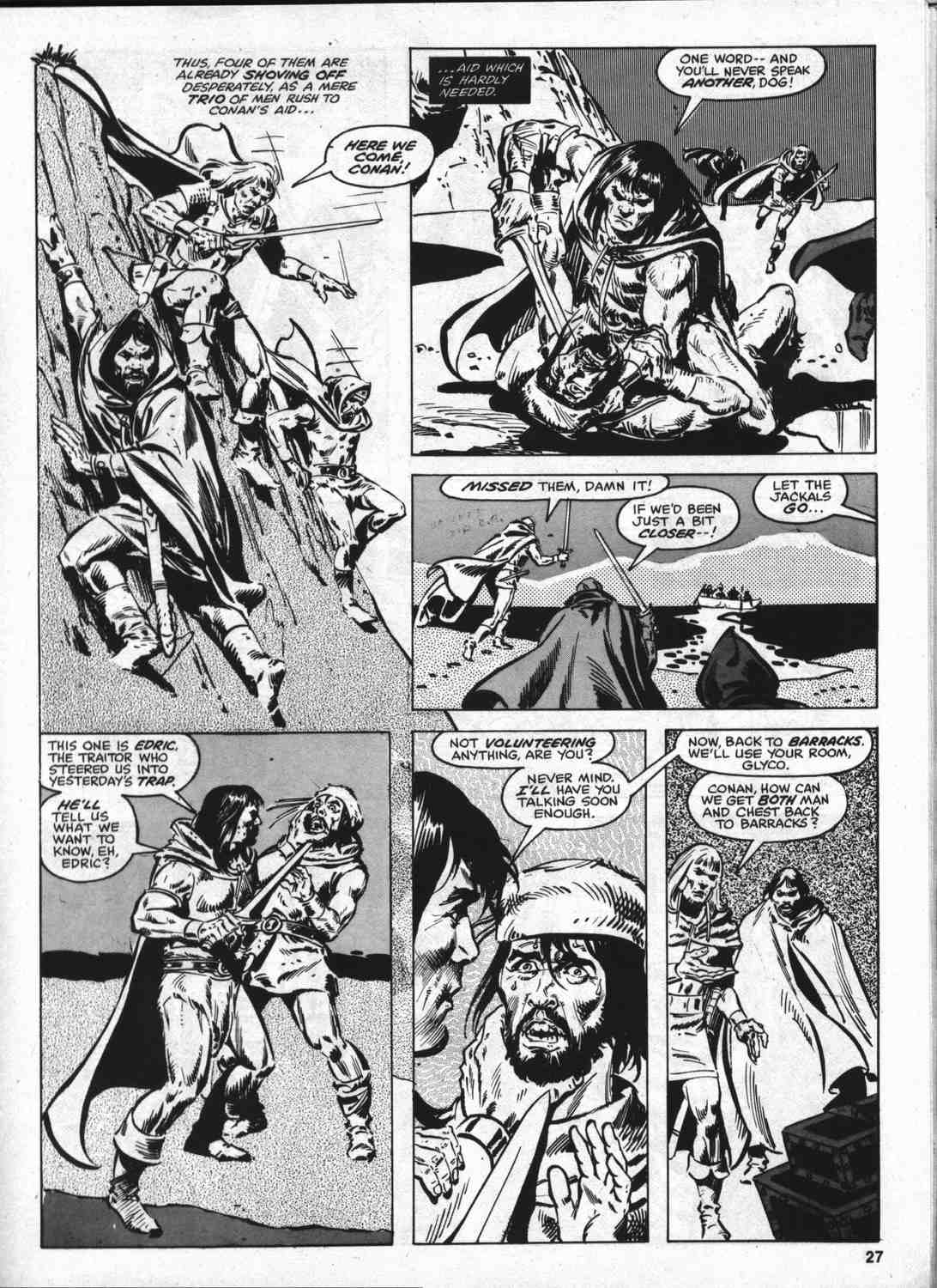The Savage Sword Of Conan Issue #46 #47 - English 26