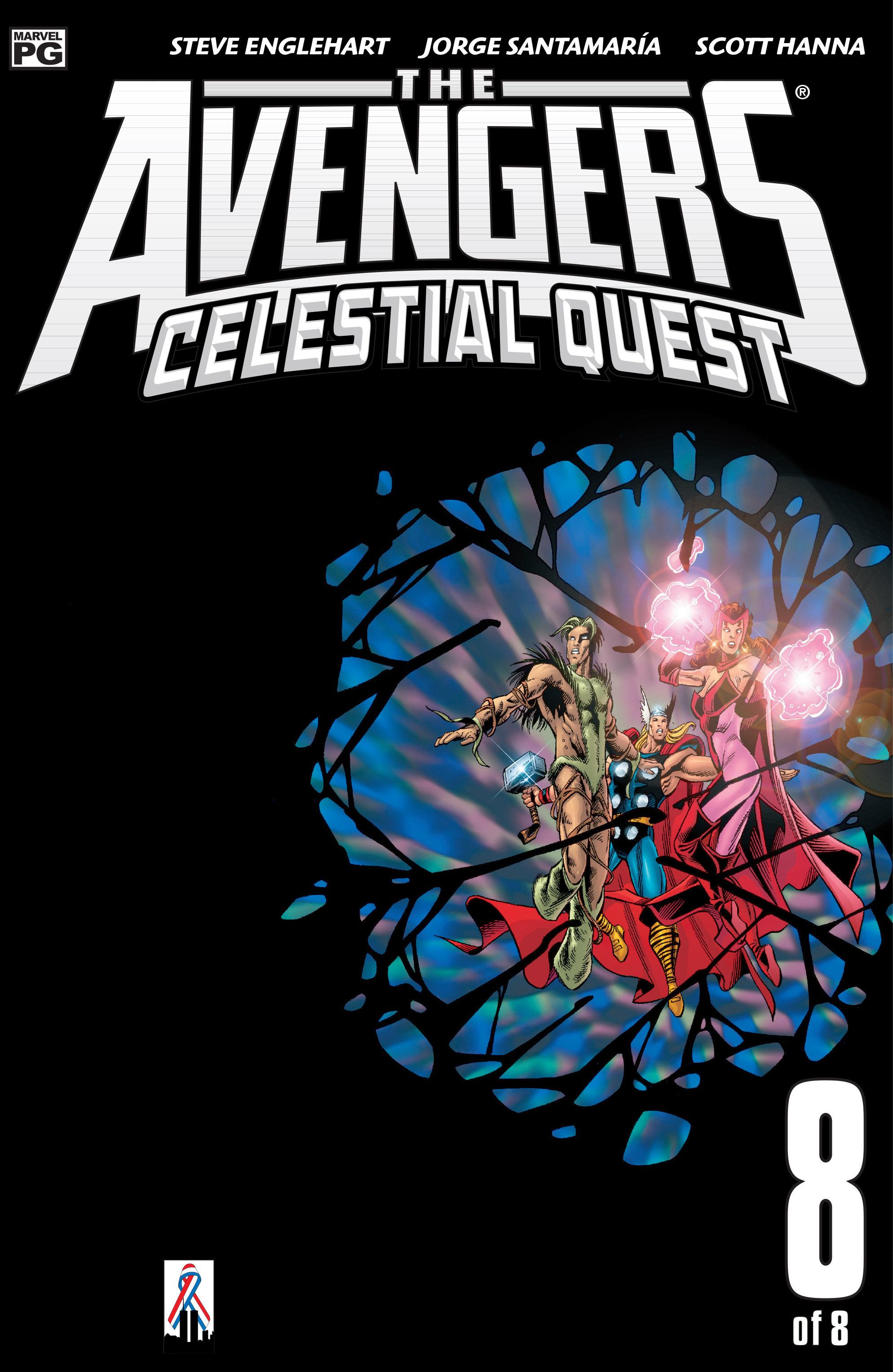 Avengers: Celestial Quest 8 Page 1