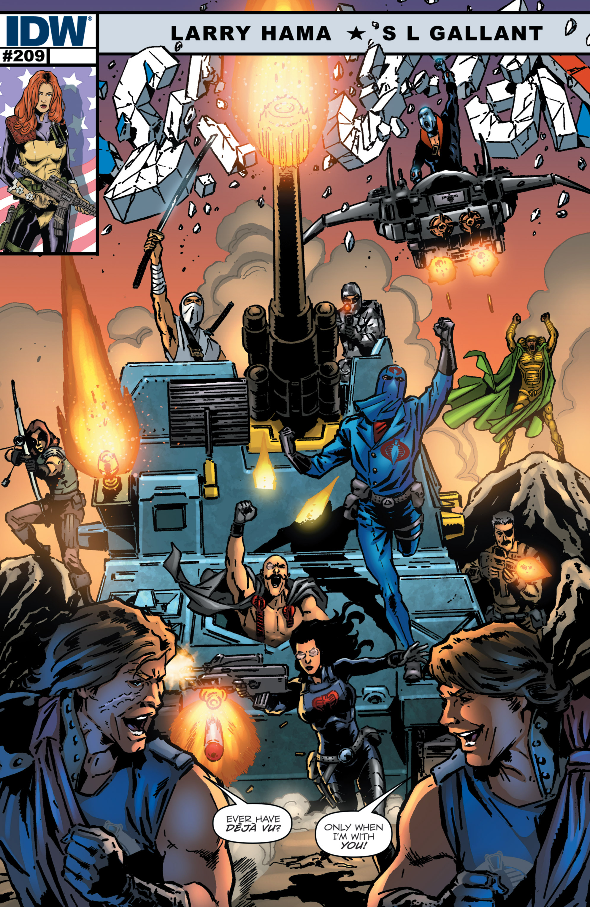 G.I. Joe: A Real American Hero 209 Page 1