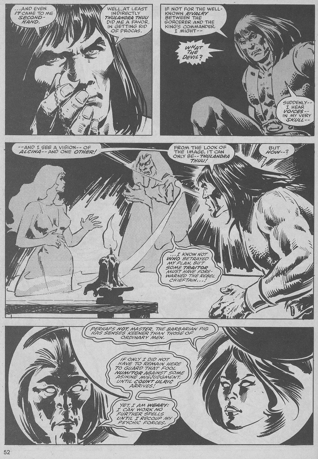 The Savage Sword Of Conan Issue #51 #52 - English 52