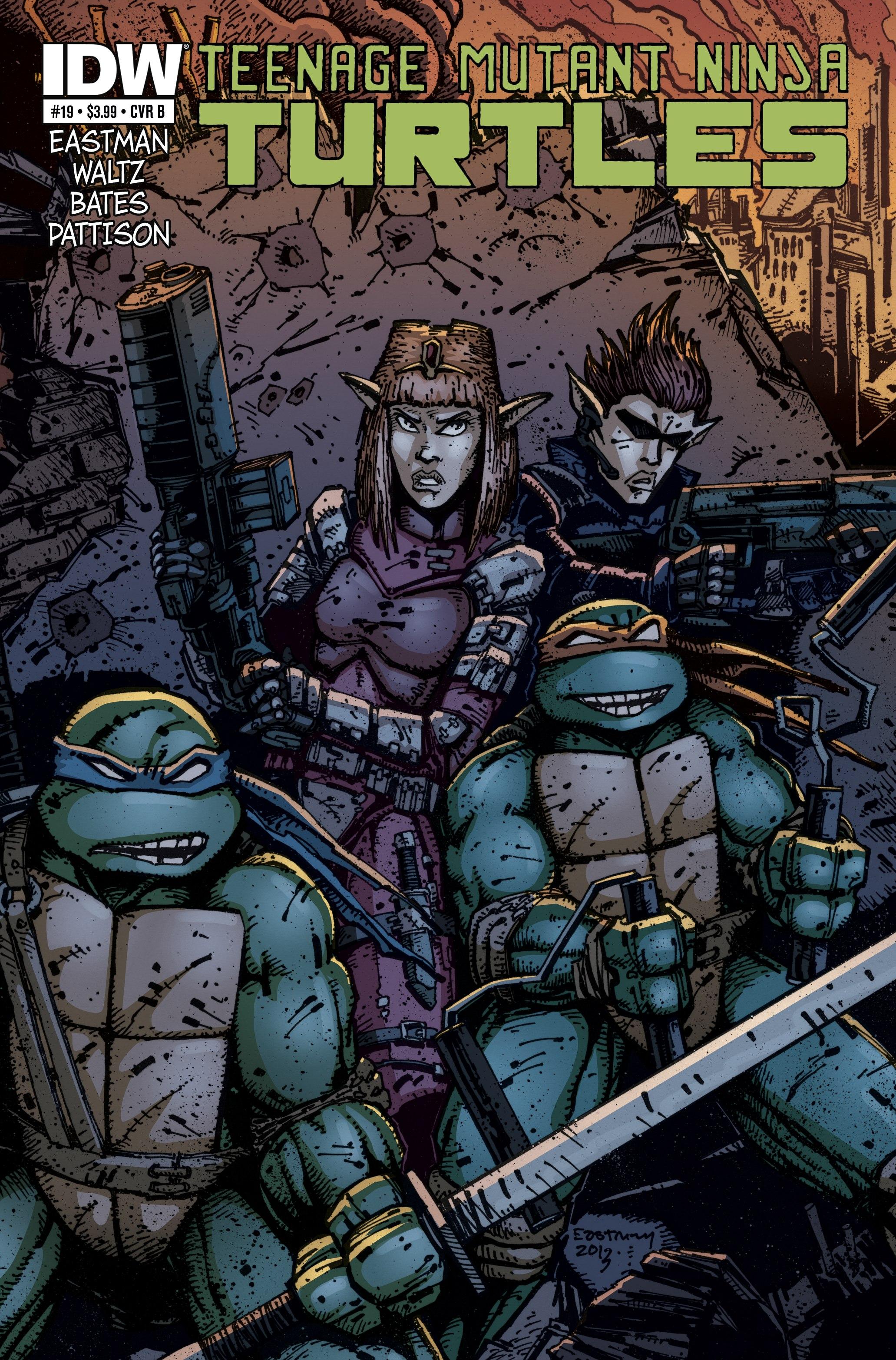 Read online Teenage Mutant Ninja Turtles (2011) comic -  Issue #19 - 2