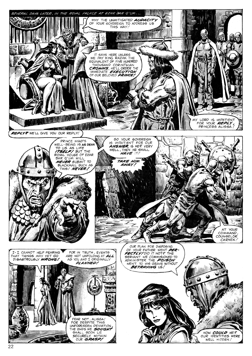 The Savage Sword Of Conan Issue #71 #72 - English 22