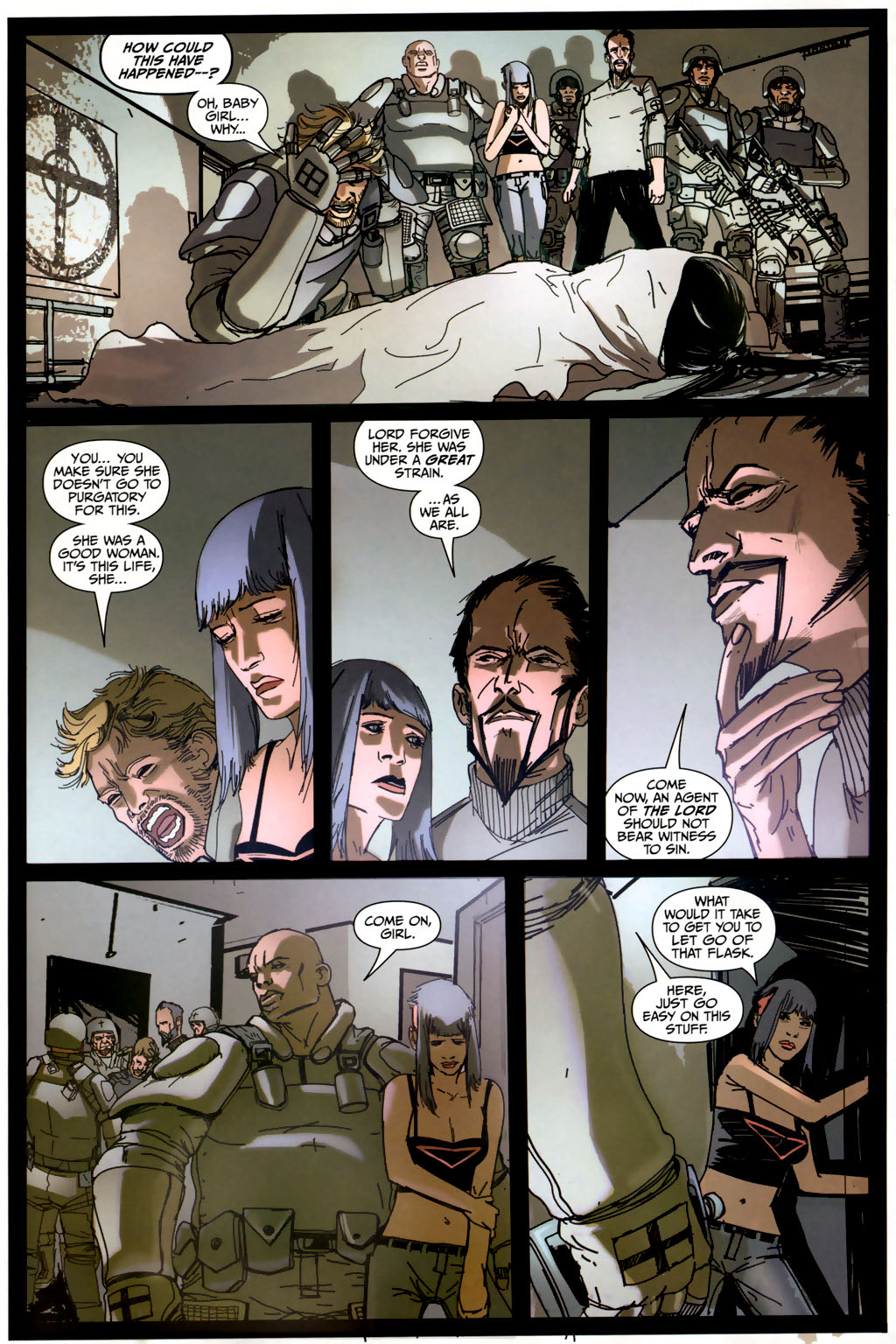 Strange Girl Issue #6 #7 - English 12