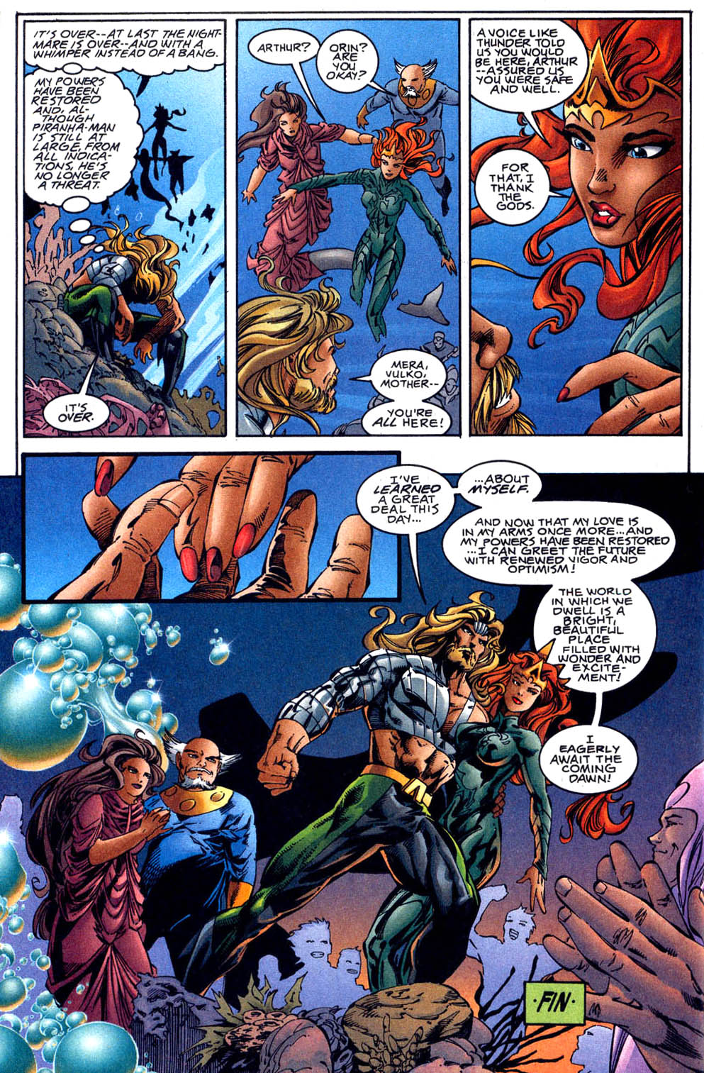Aquaman (1994) Issue #62 #68 - English 23