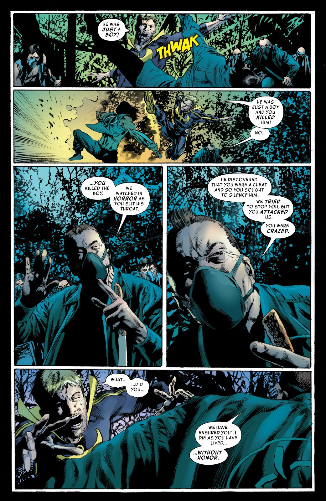 Iron Fist (2017) Issue #3 #3 - English 21