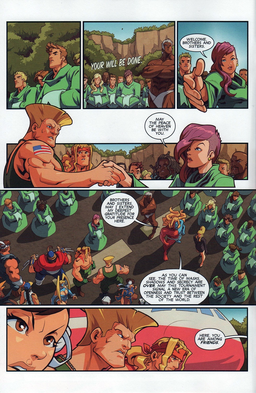 Street Fighter Unlimited Issue #7 #9 - English 4
