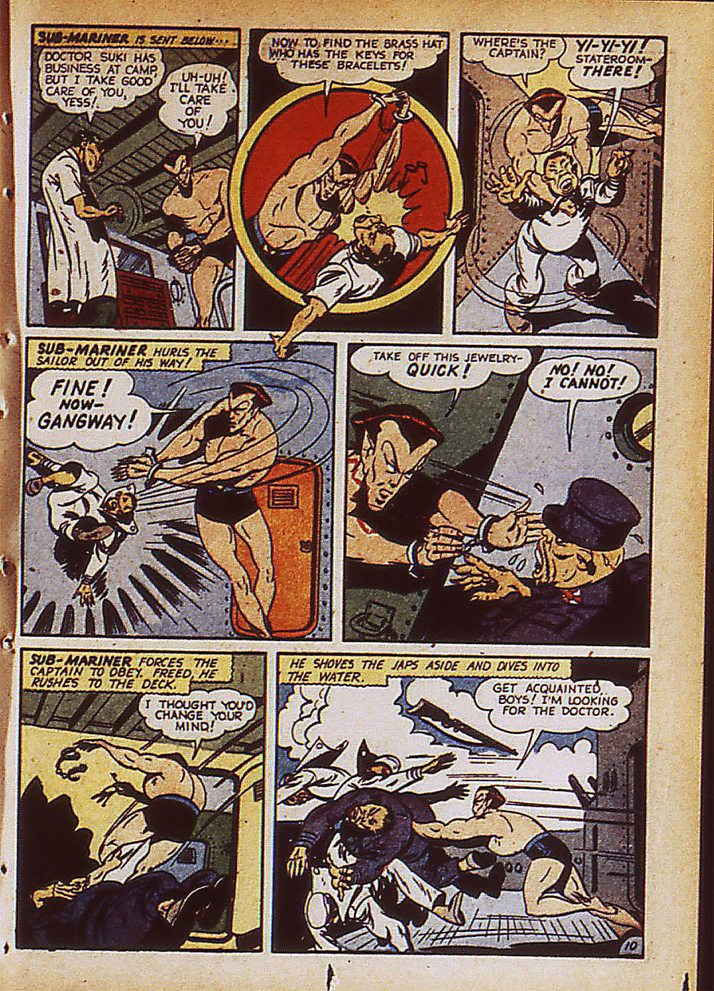Sub-Mariner Comics Issue #8 #8 - English 34