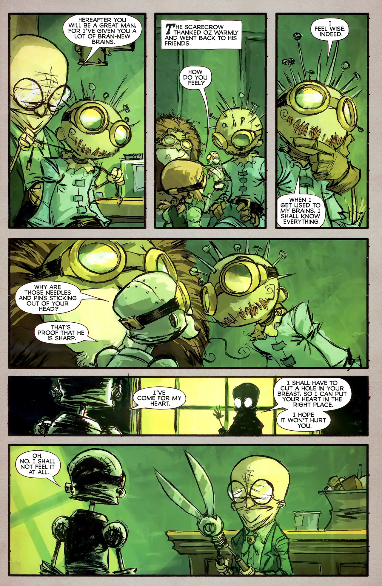 Read online The Wonderful Wizard of Oz comic -  Issue #7 - 4