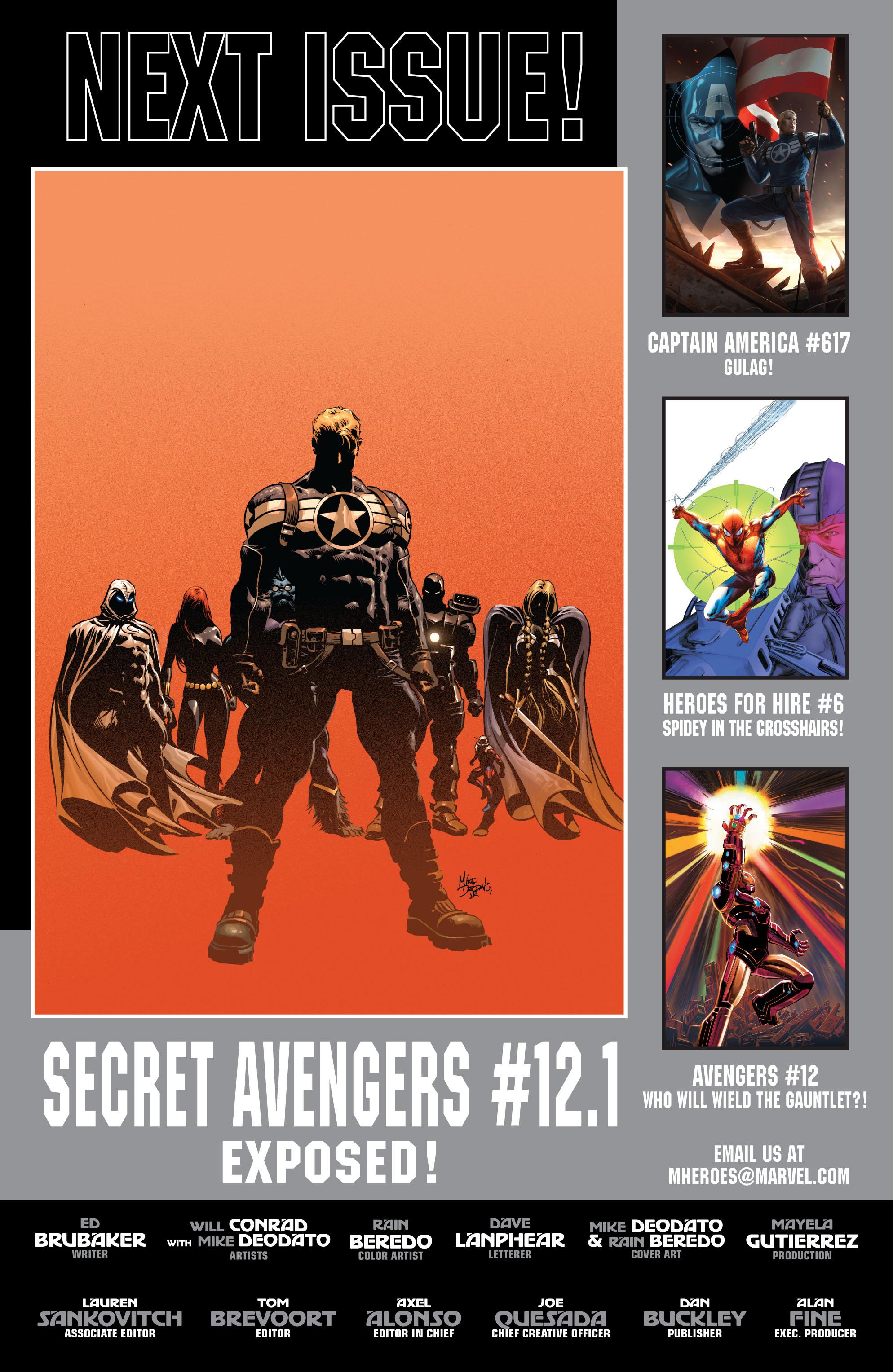 Read online Secret Avengers (2010) comic -  Issue #12 - 25