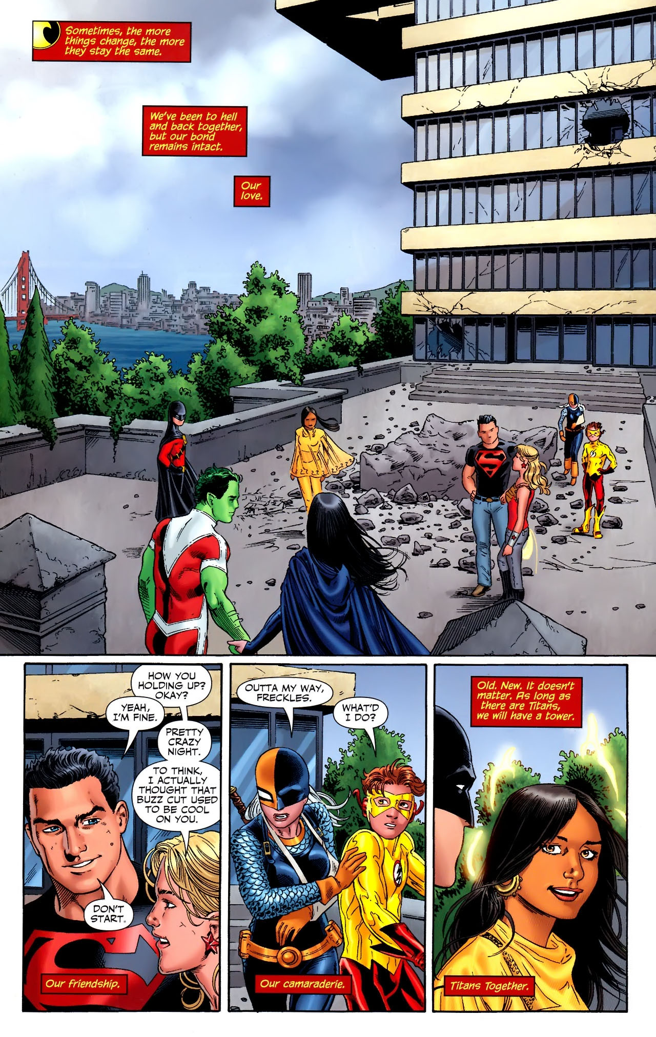 Teen Titans (2003) #100 #110 - English 29