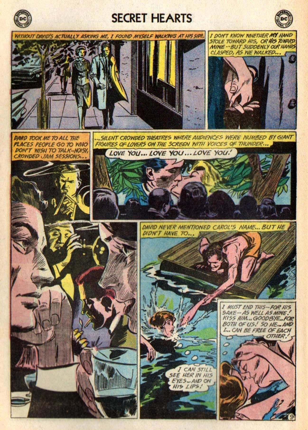 Read online Secret Hearts comic -  Issue #98 - 28