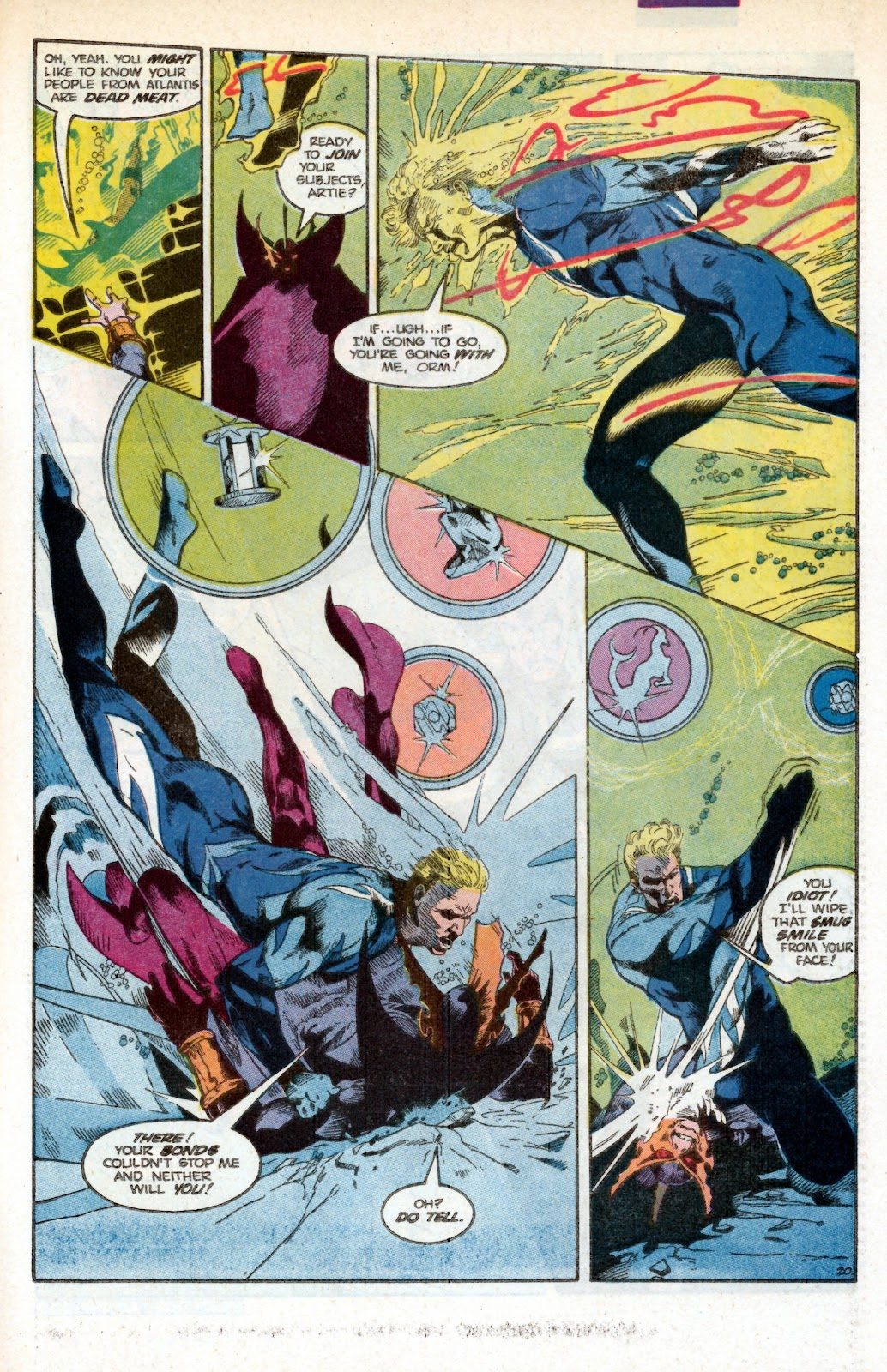 Aquaman (1986) Issue #3 #3 - English 30