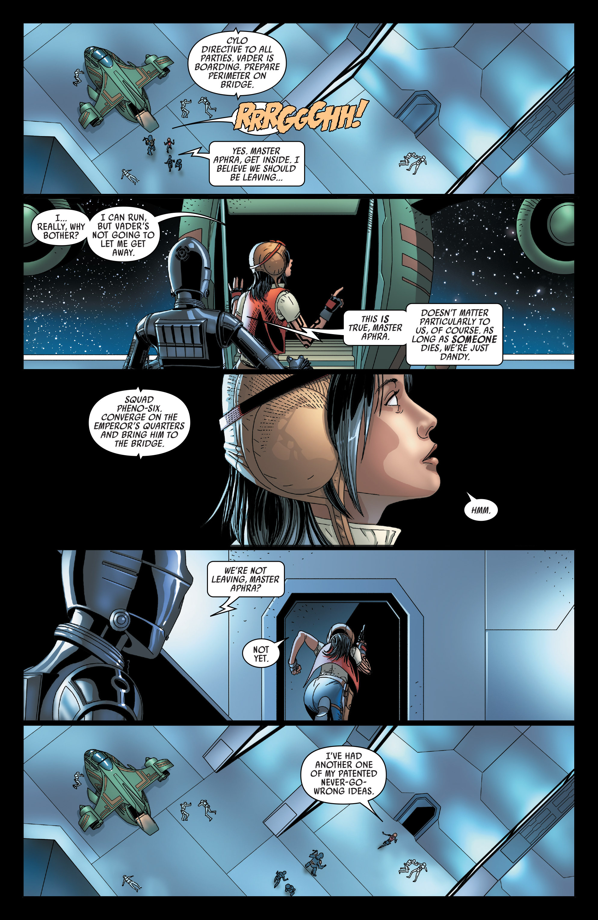 Read online Darth Vader comic -  Issue #23 - 10