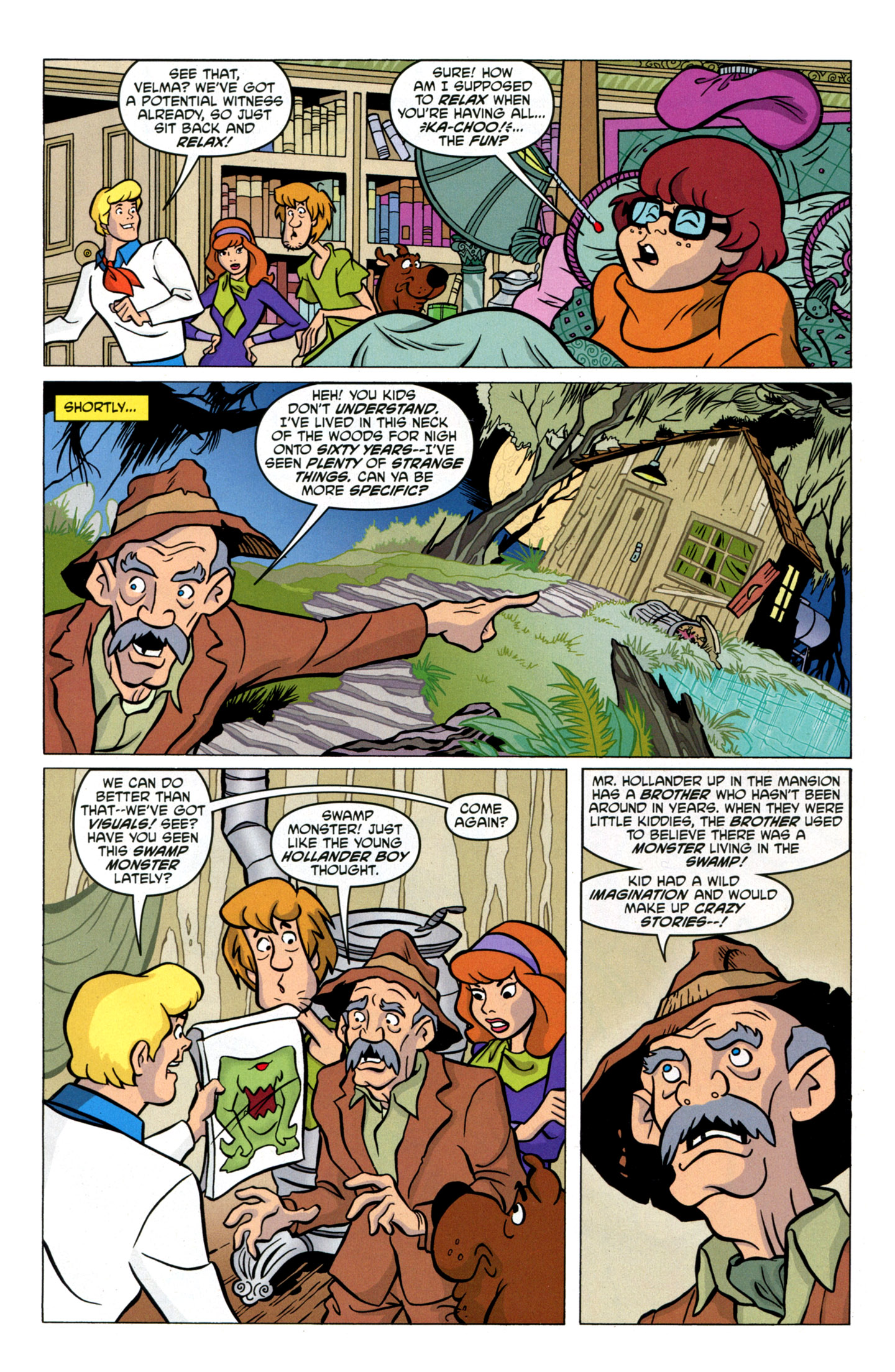 Read online Scooby-Doo: Where Are You? comic -  Issue #17 - 27