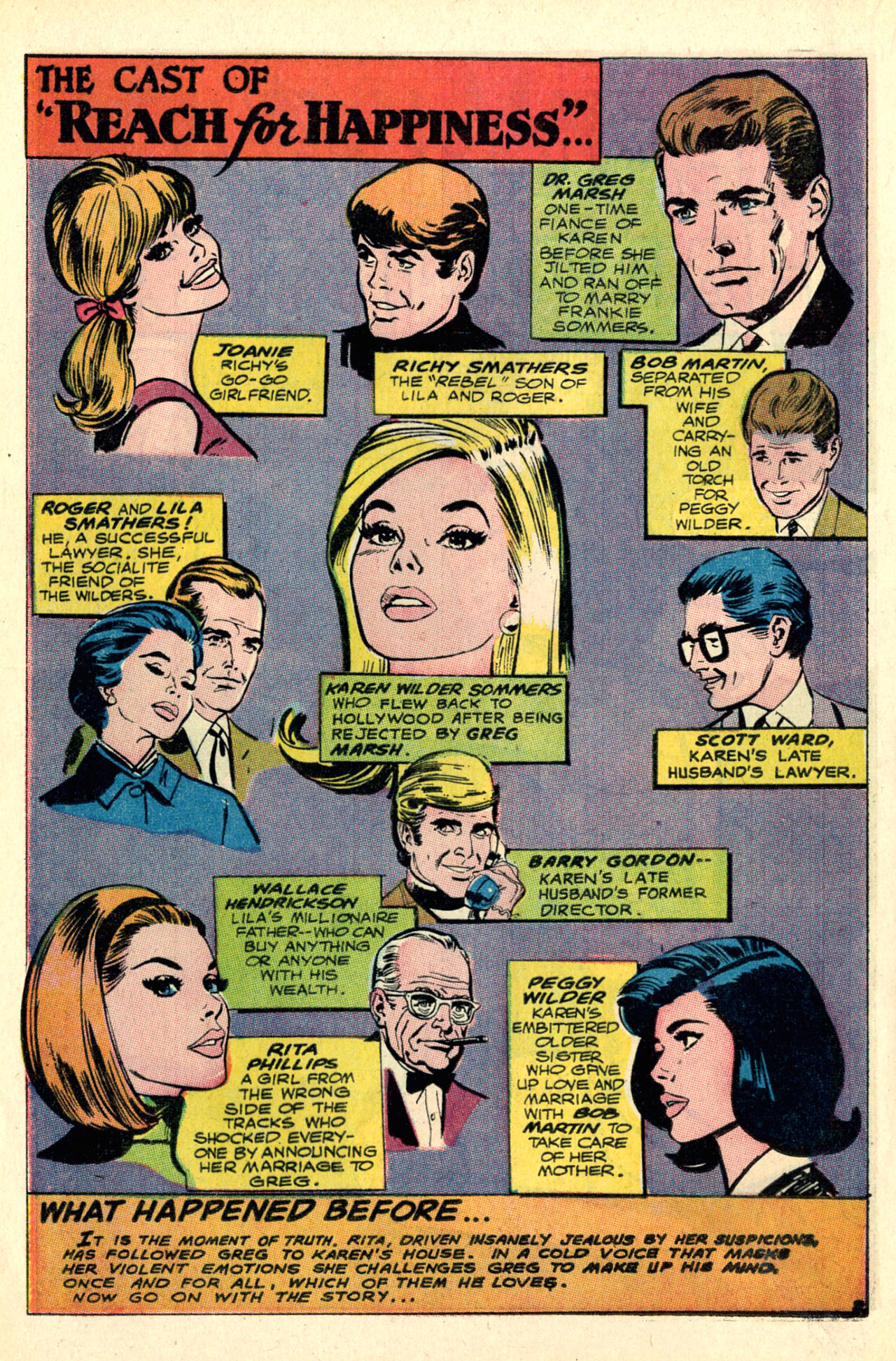 Read online Secret Hearts comic -  Issue #127 - 20