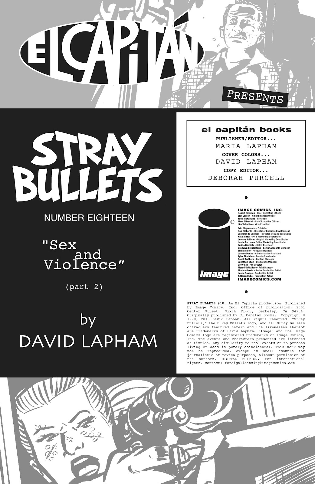 Stray Bullets Issue #18 #18 - English 2