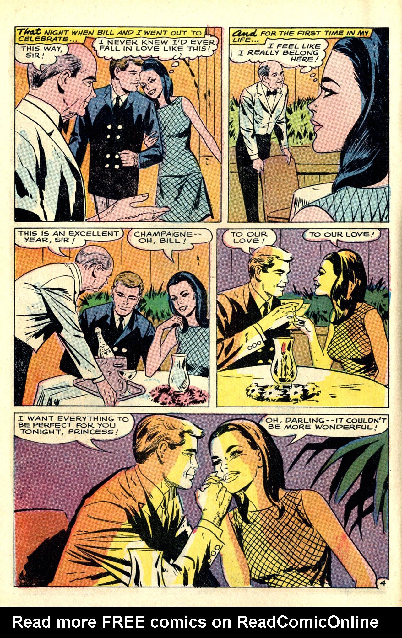 Read online Secret Hearts comic -  Issue #127 - 6