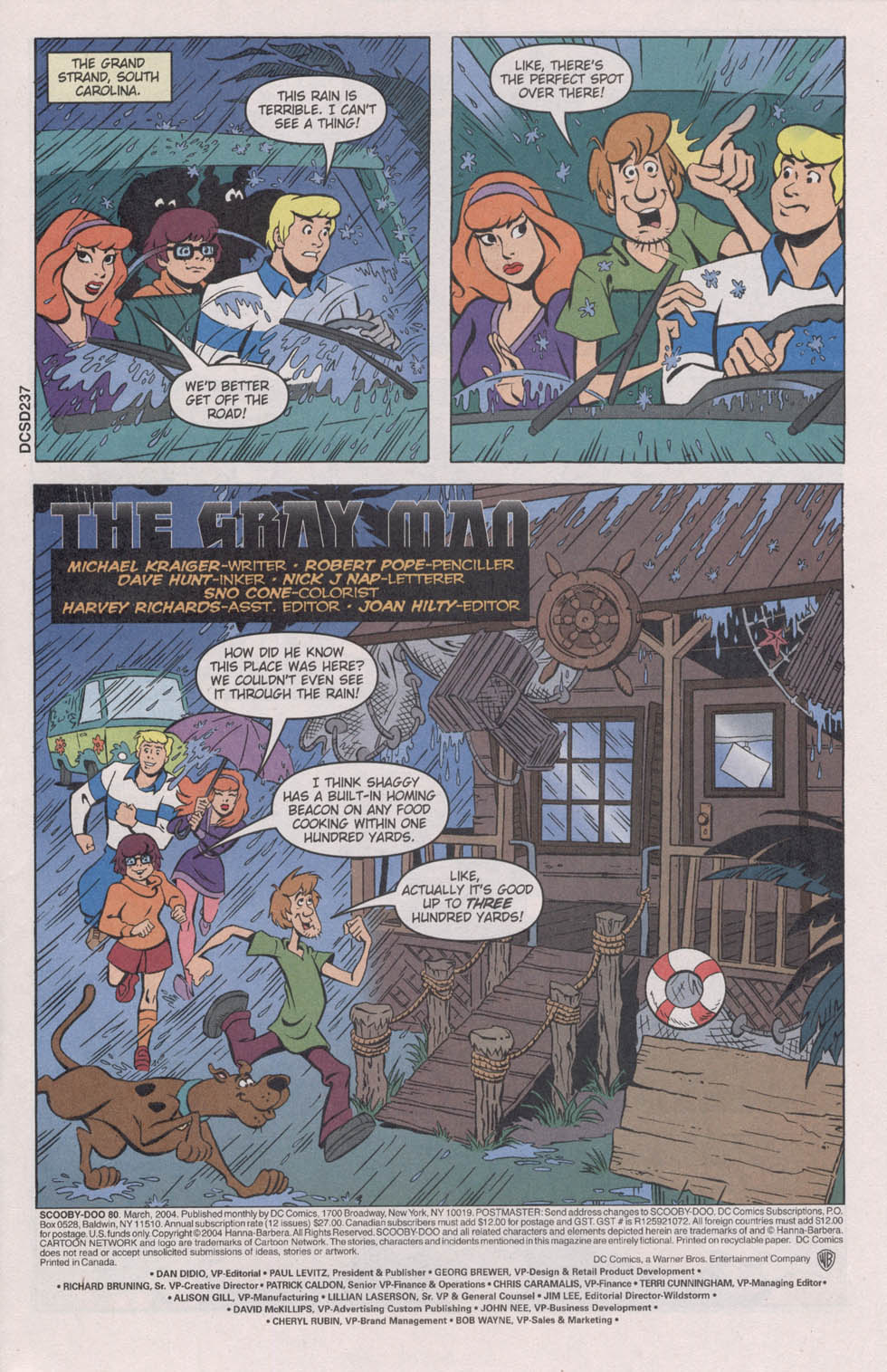 Read online Scooby-Doo (1997) comic -  Issue #80 - 3