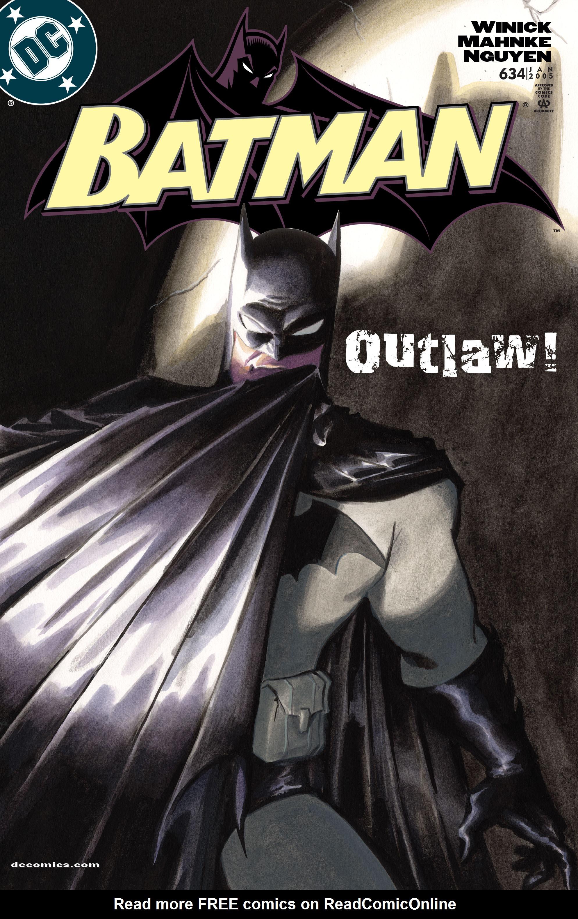 Batman (1940) 634 Page 1