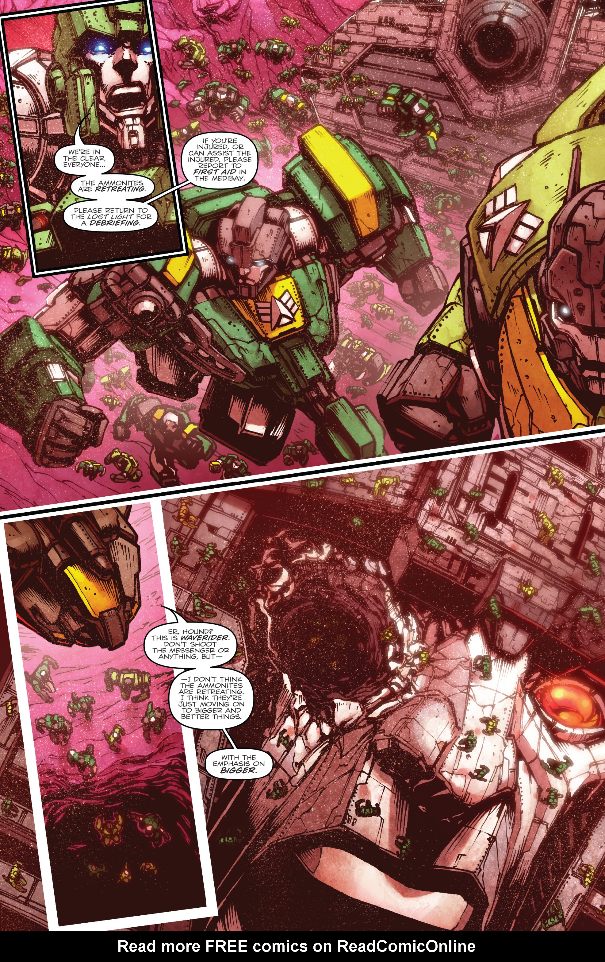 Read online The Transformers: Dark Cybertron Finale comic -  Issue # Full - 8