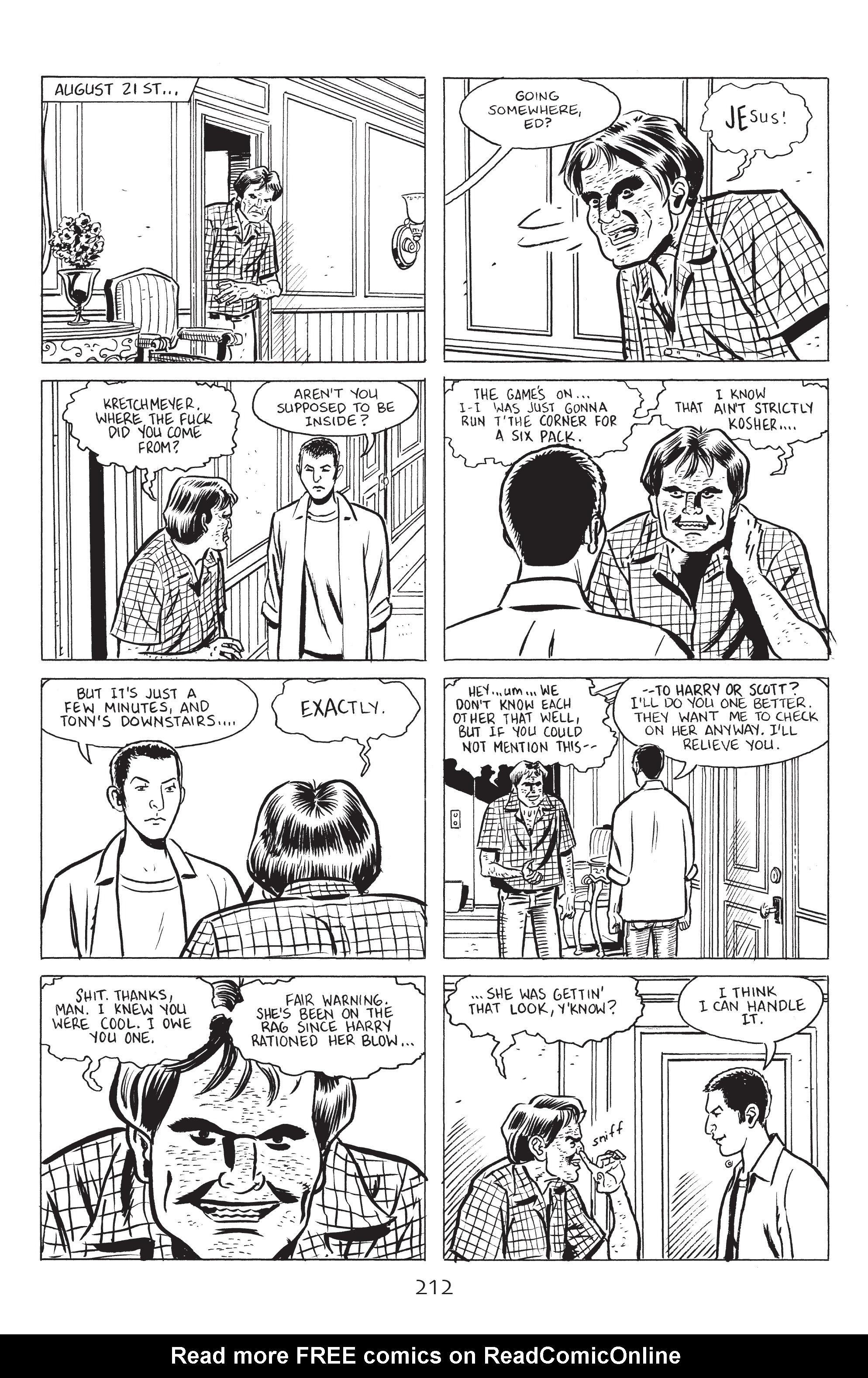 Read online Stray Bullets: Sunshine & Roses comic -  Issue #8 - 18