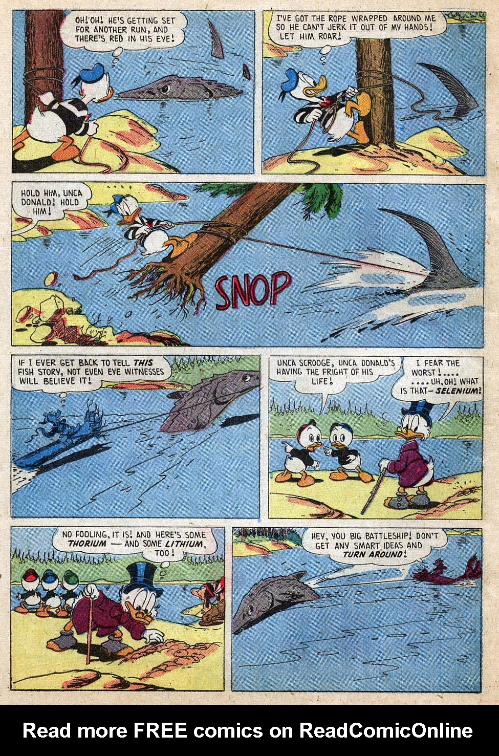 Uncle Scrooge (1953) Issue #18 #18 - English 24