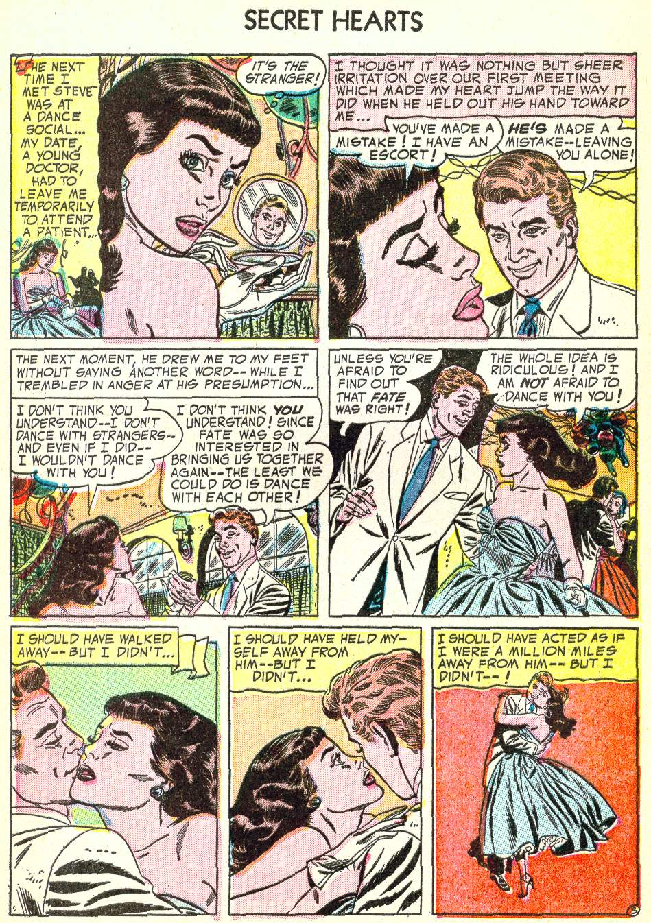 Read online Secret Hearts comic -  Issue #22 - 28