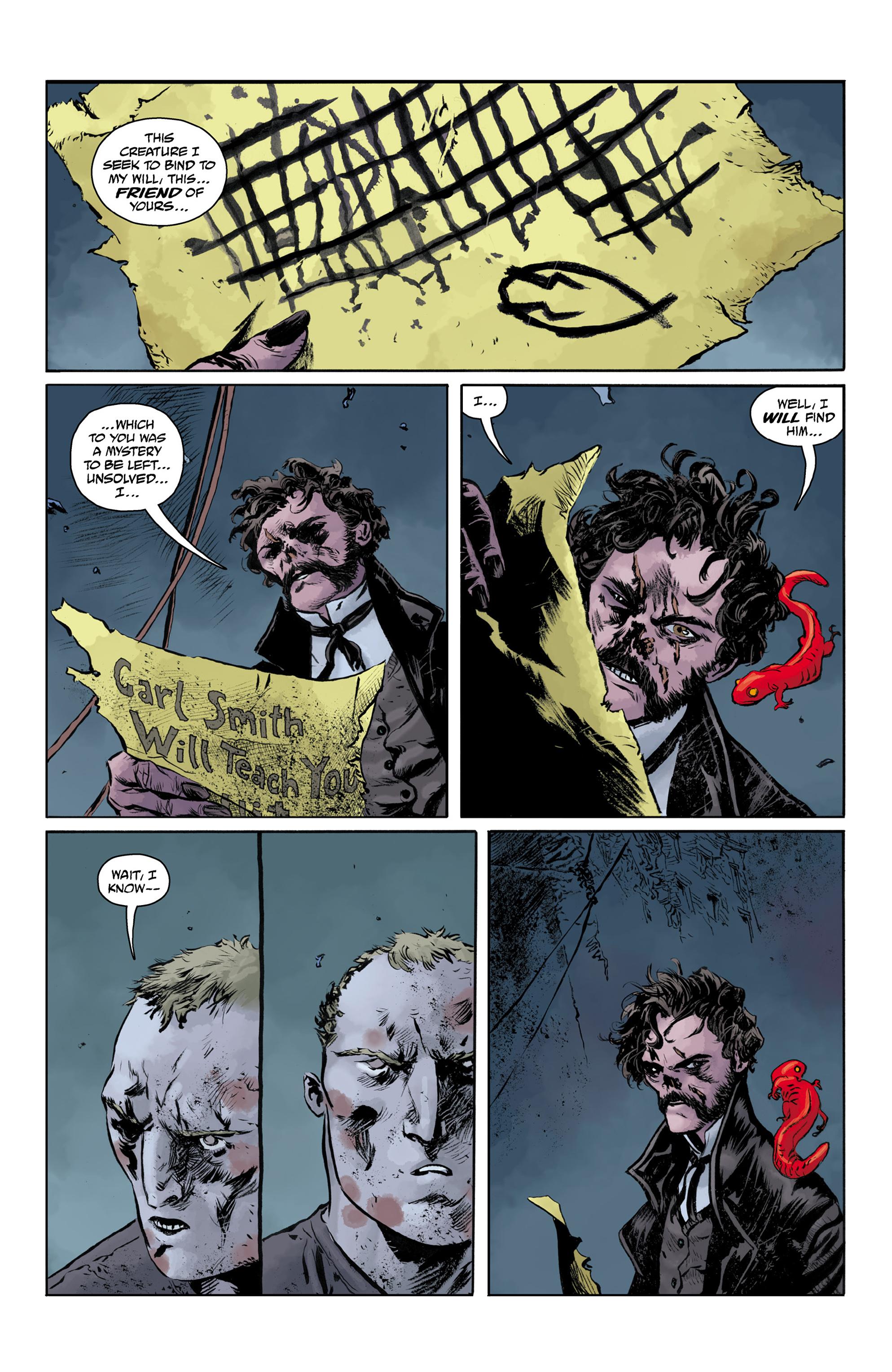 Read online Abe Sapien comic -  Issue #32 - 17