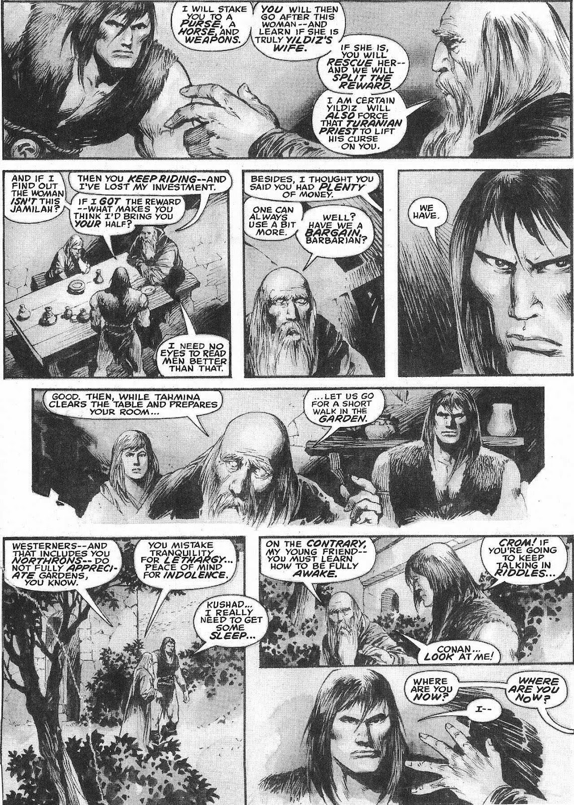 The Savage Sword Of Conan Issue #207 #208 - English 34