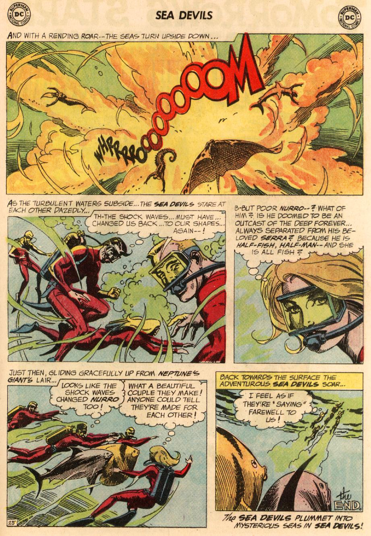 Read online Sea Devils comic -  Issue #8 - 34