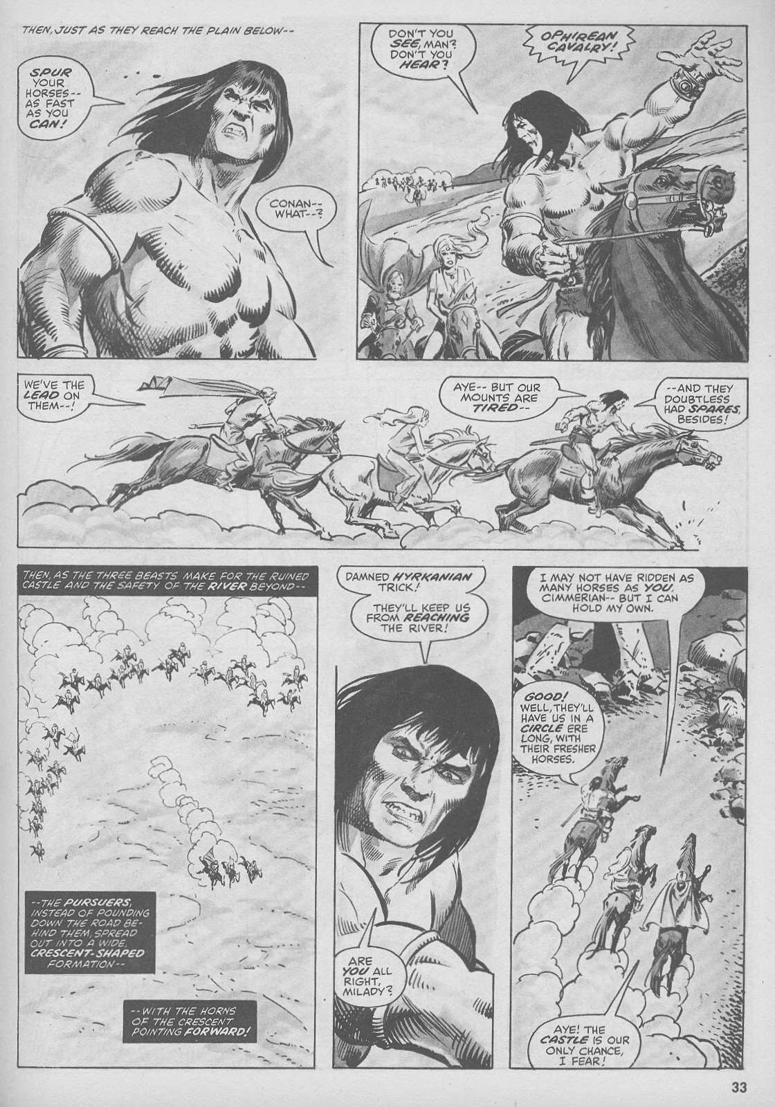 The Savage Sword Of Conan Issue #44 #45 - English 33