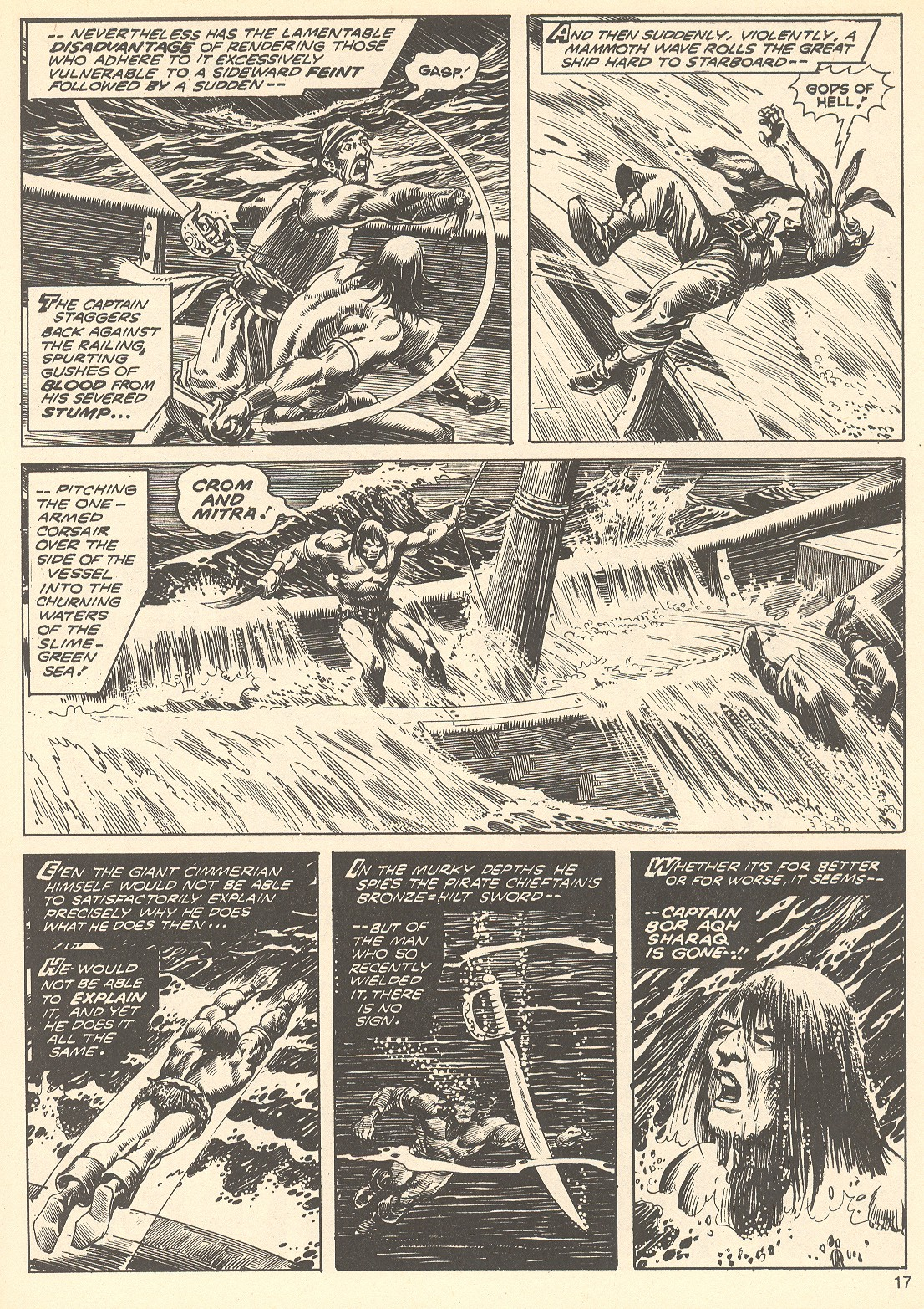 The Savage Sword Of Conan Issue #75 #76 - English 17