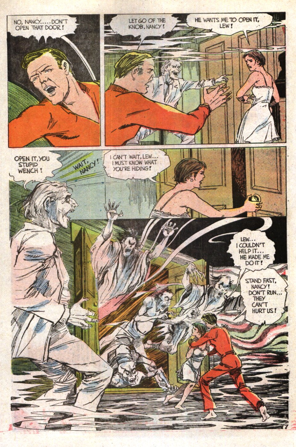 Read online Scary Tales comic -  Issue #23 - 31