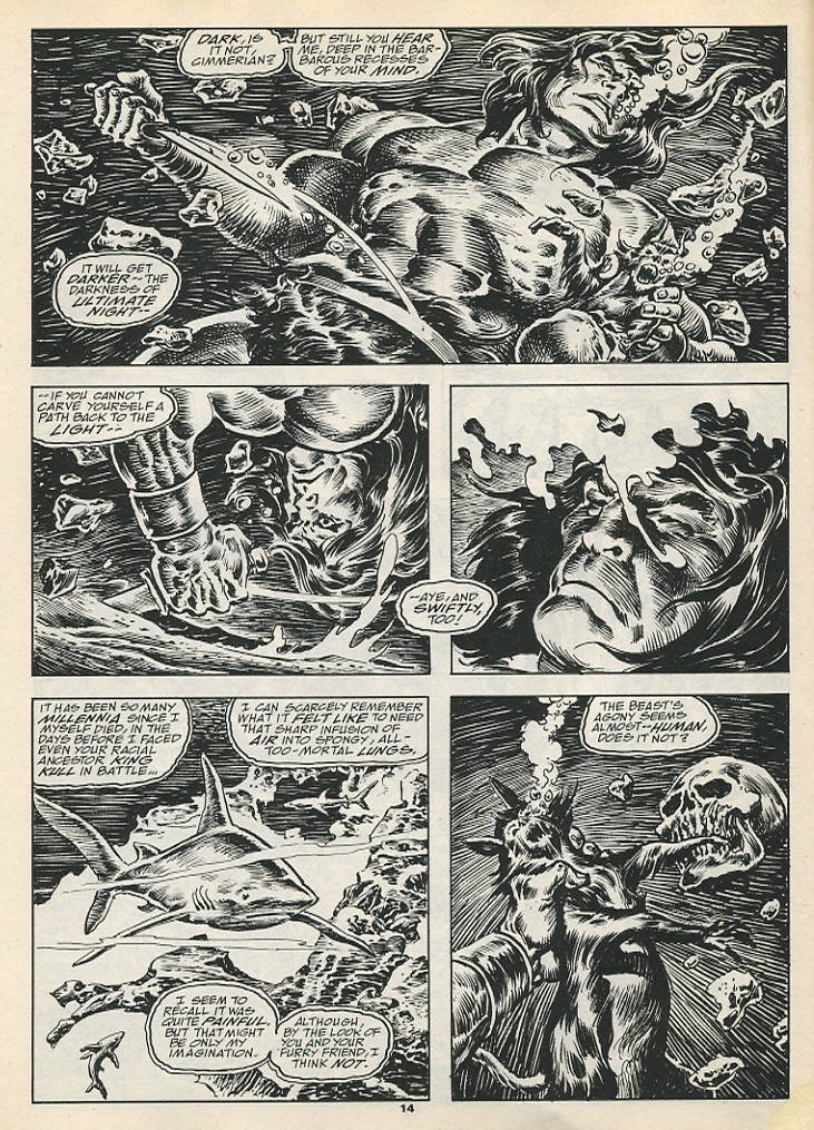 The Savage Sword Of Conan Issue #192 #193 - English 16
