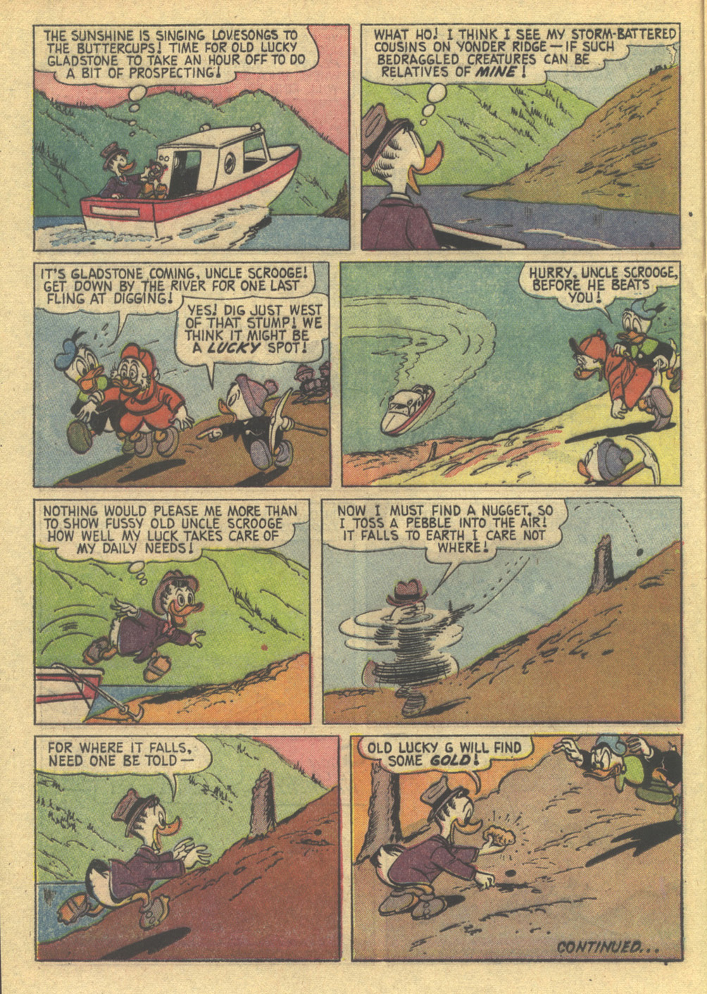 Uncle Scrooge (1953) Issue #86 #86 - English 16