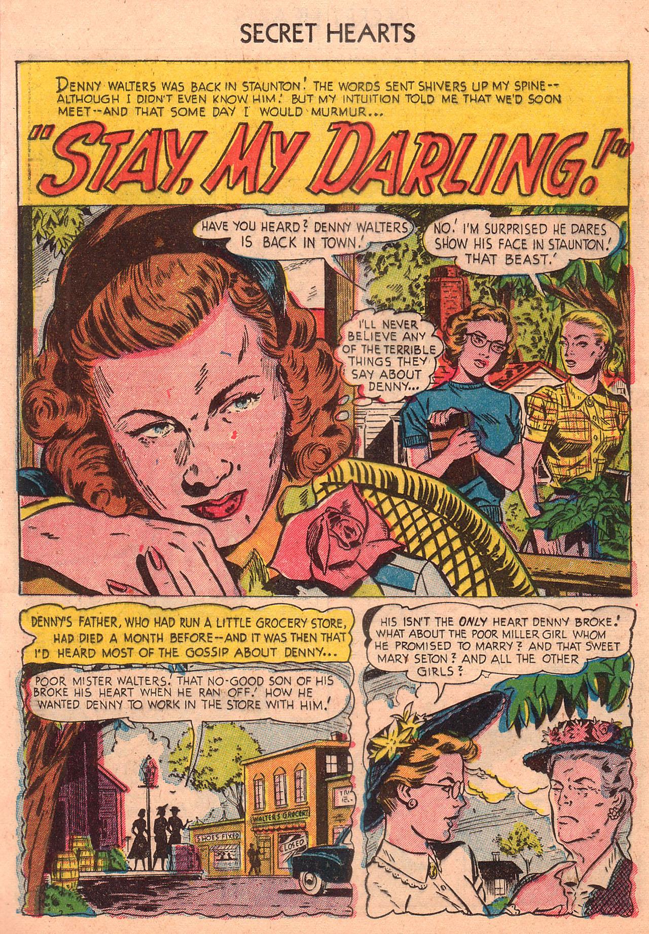 Read online Secret Hearts comic -  Issue #23 - 16