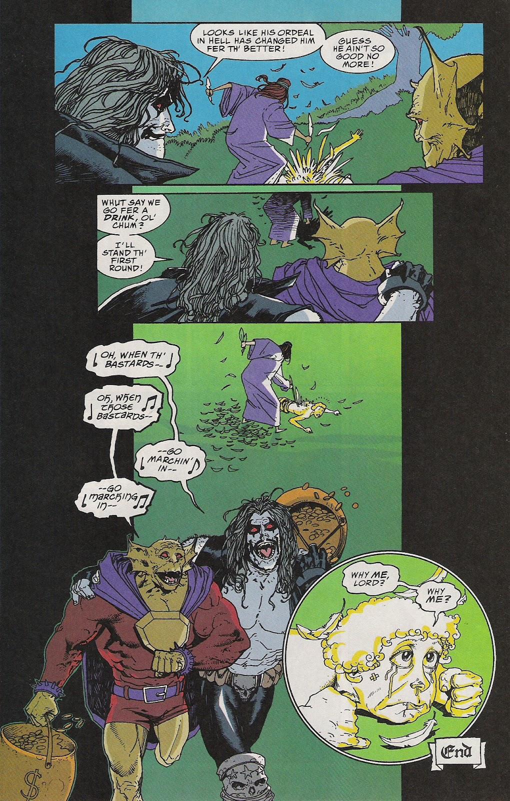 Lobo (1993) Issue #64 #69 - English 23