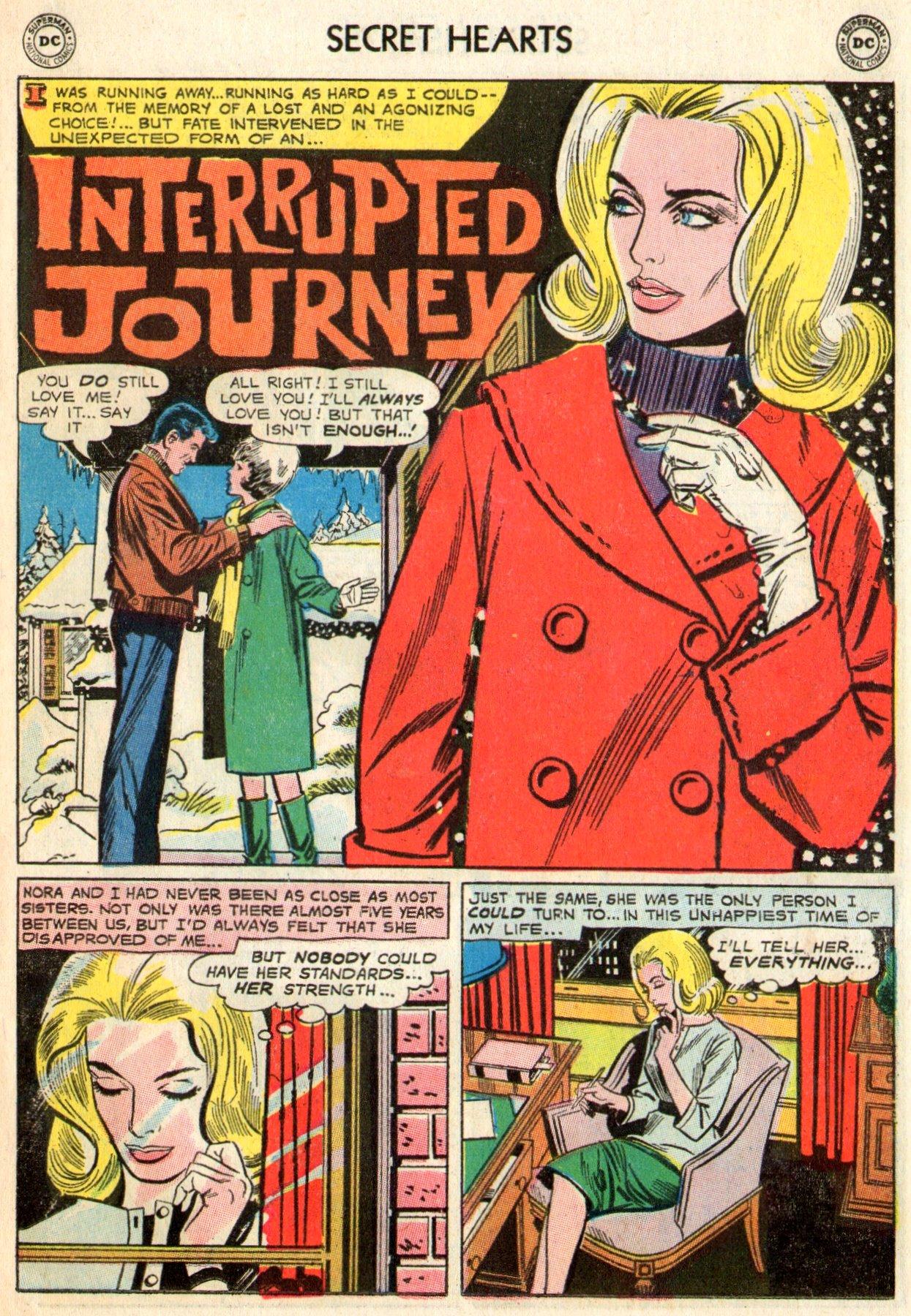 Read online Secret Hearts comic -  Issue #103 - 11
