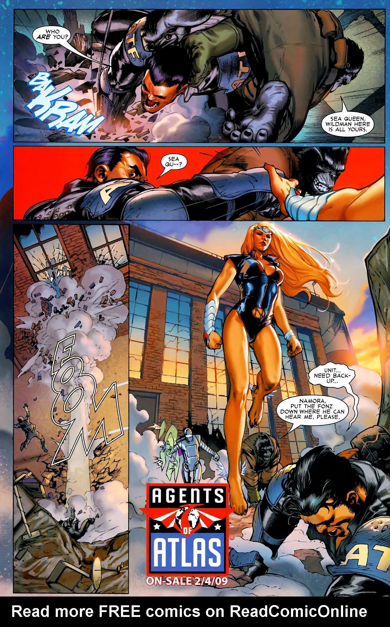 Read online Secret Invasion: War of Kings comic -  Issue # Full - 45
