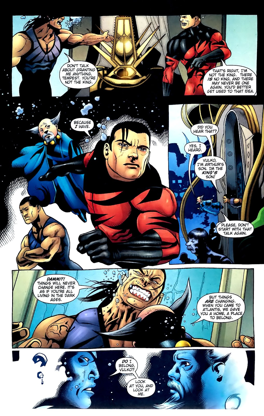 Aquaman (2003) Issue #32 #32 - English 20