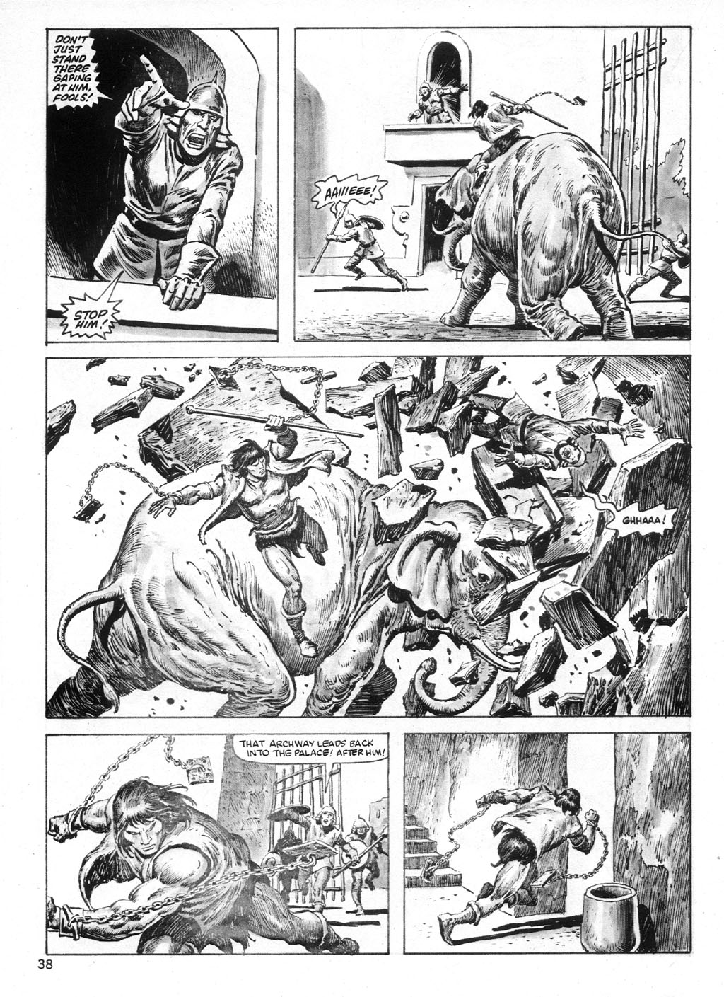 The Savage Sword Of Conan Issue #95 #96 - English 38