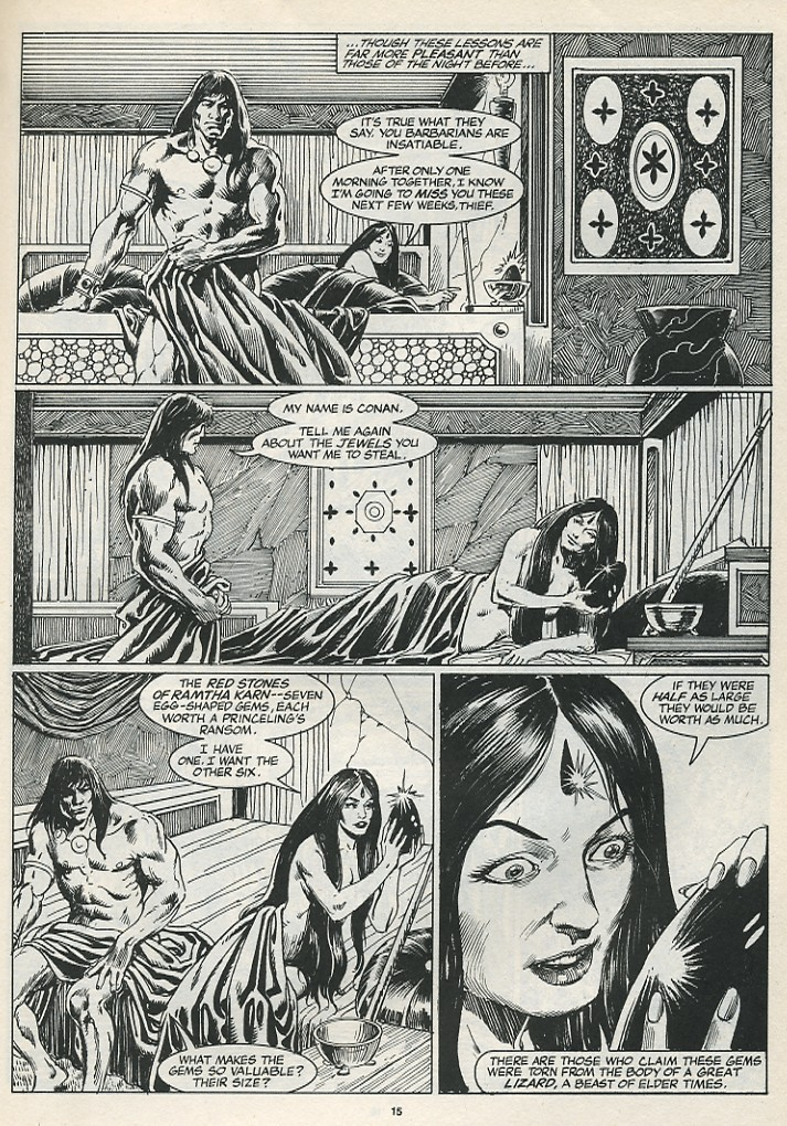 The Savage Sword Of Conan Issue #174 #175 - English 17