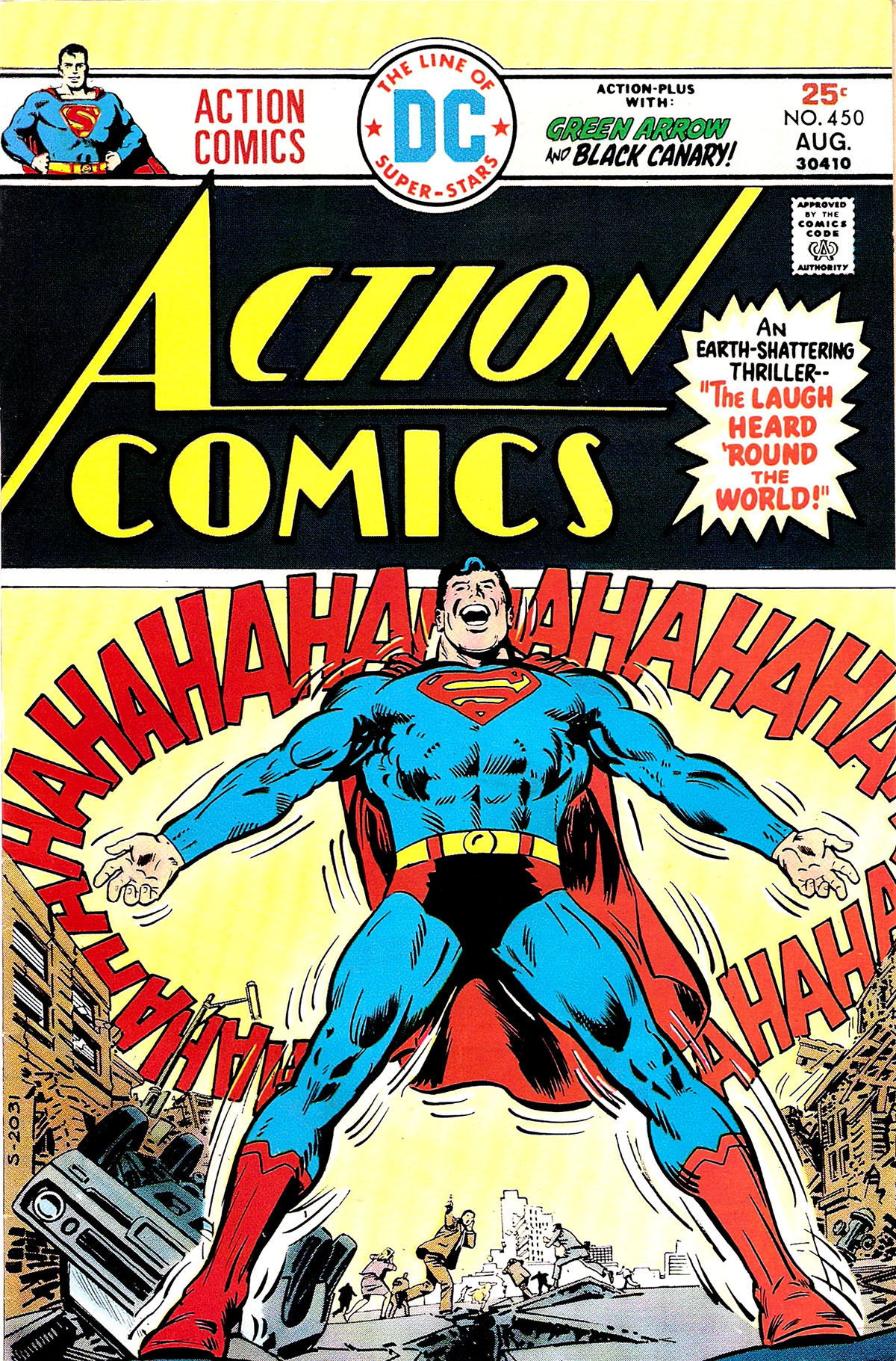 Action Comics (1938) 450 Page 1